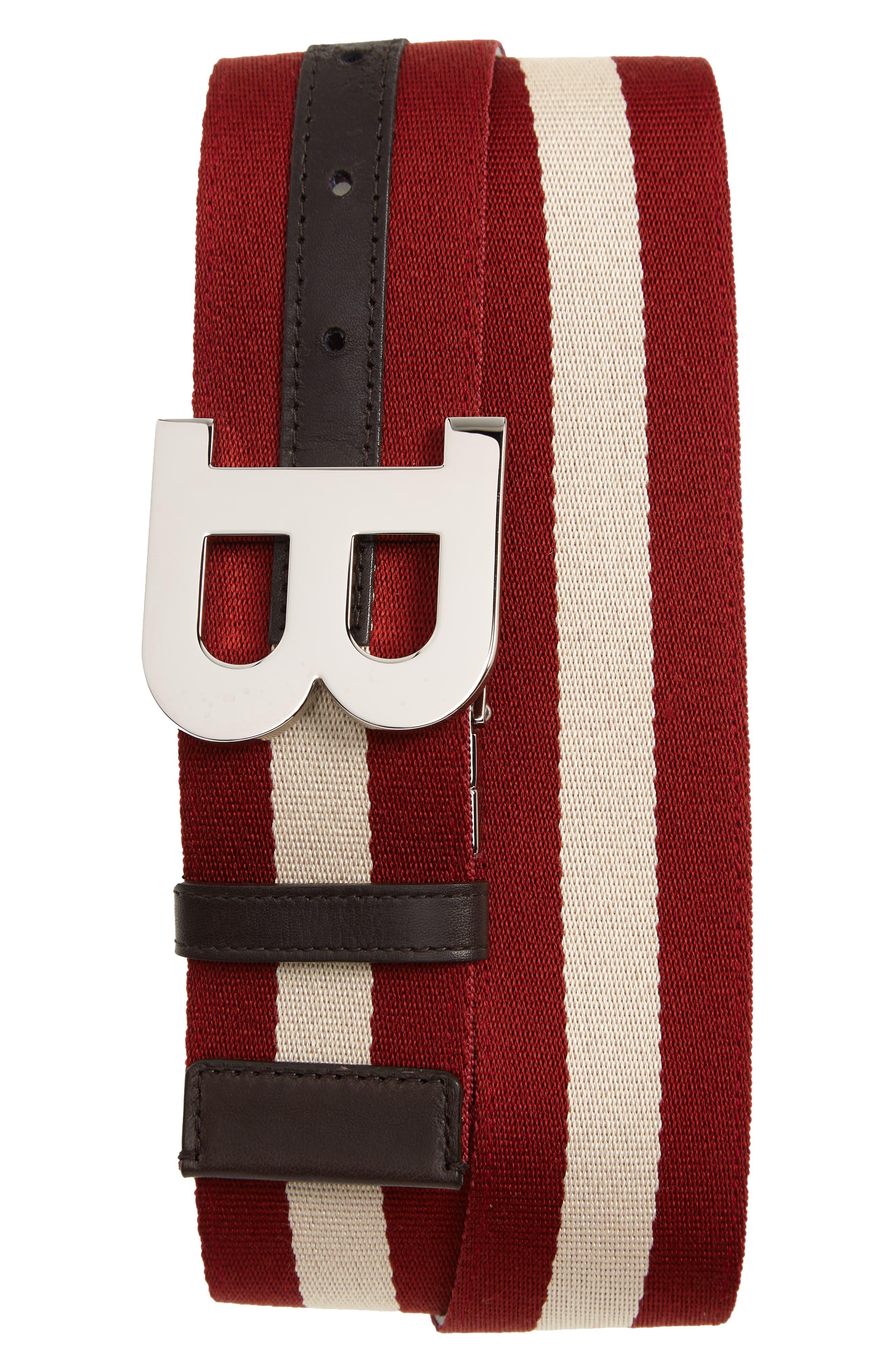 B Buckle Reversible Belt,                         Main,                         color, 600