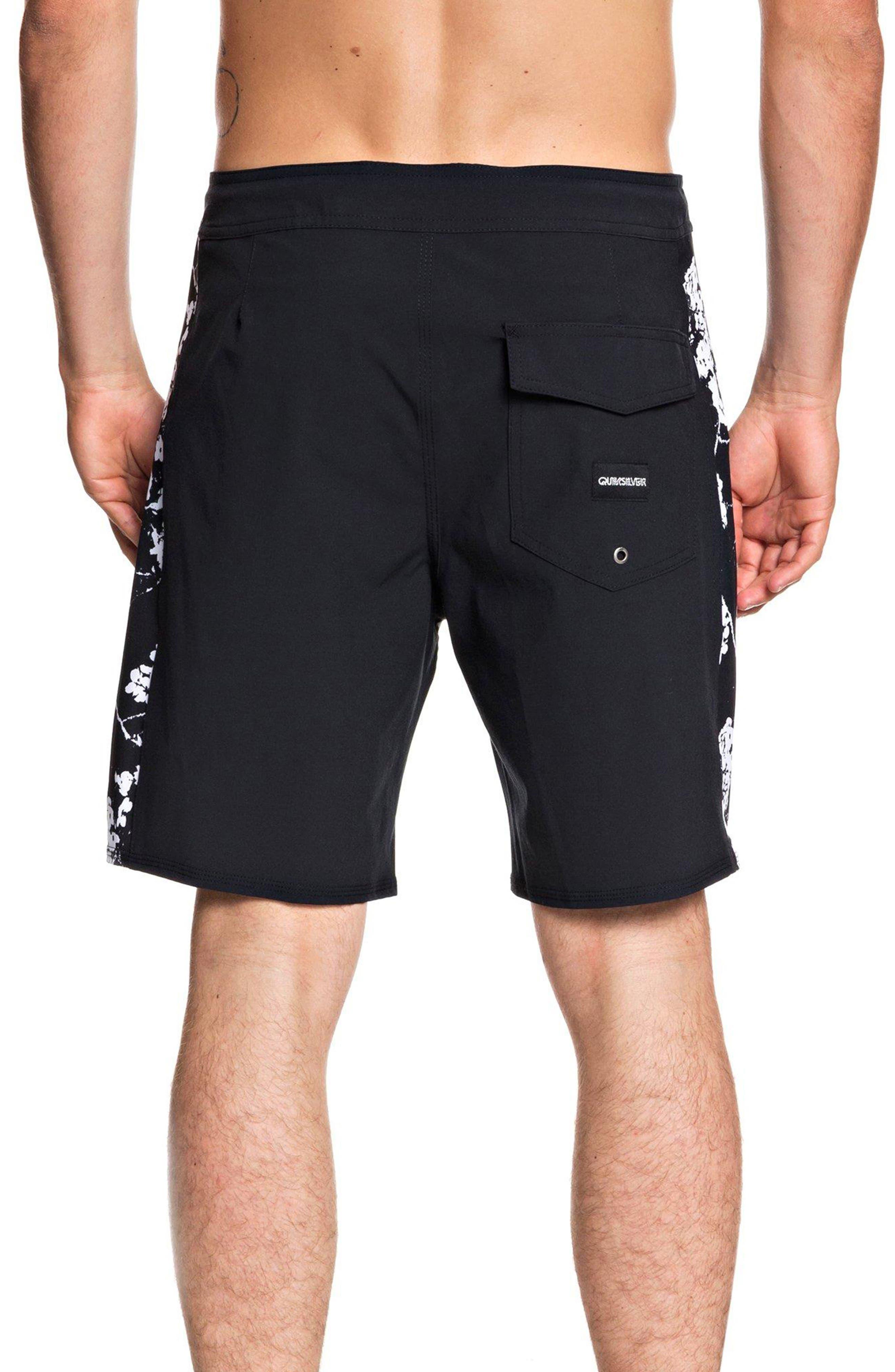Arch Beach Shorts,                             Alternate thumbnail 2, color,                             BLACK