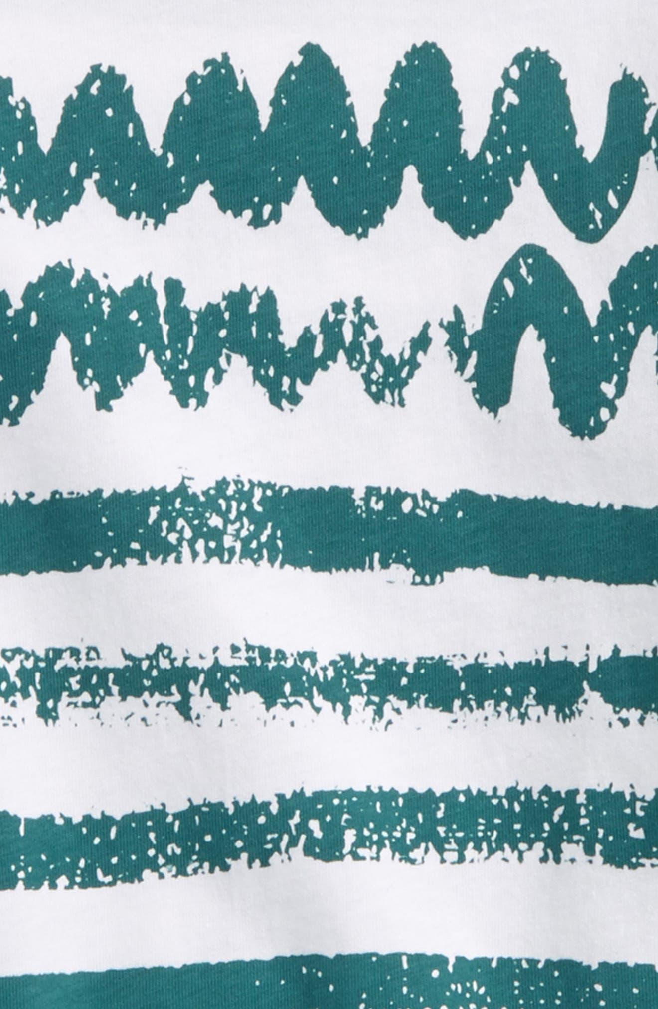 Juniper Print T-Shirt,                             Alternate thumbnail 2, color,                             100