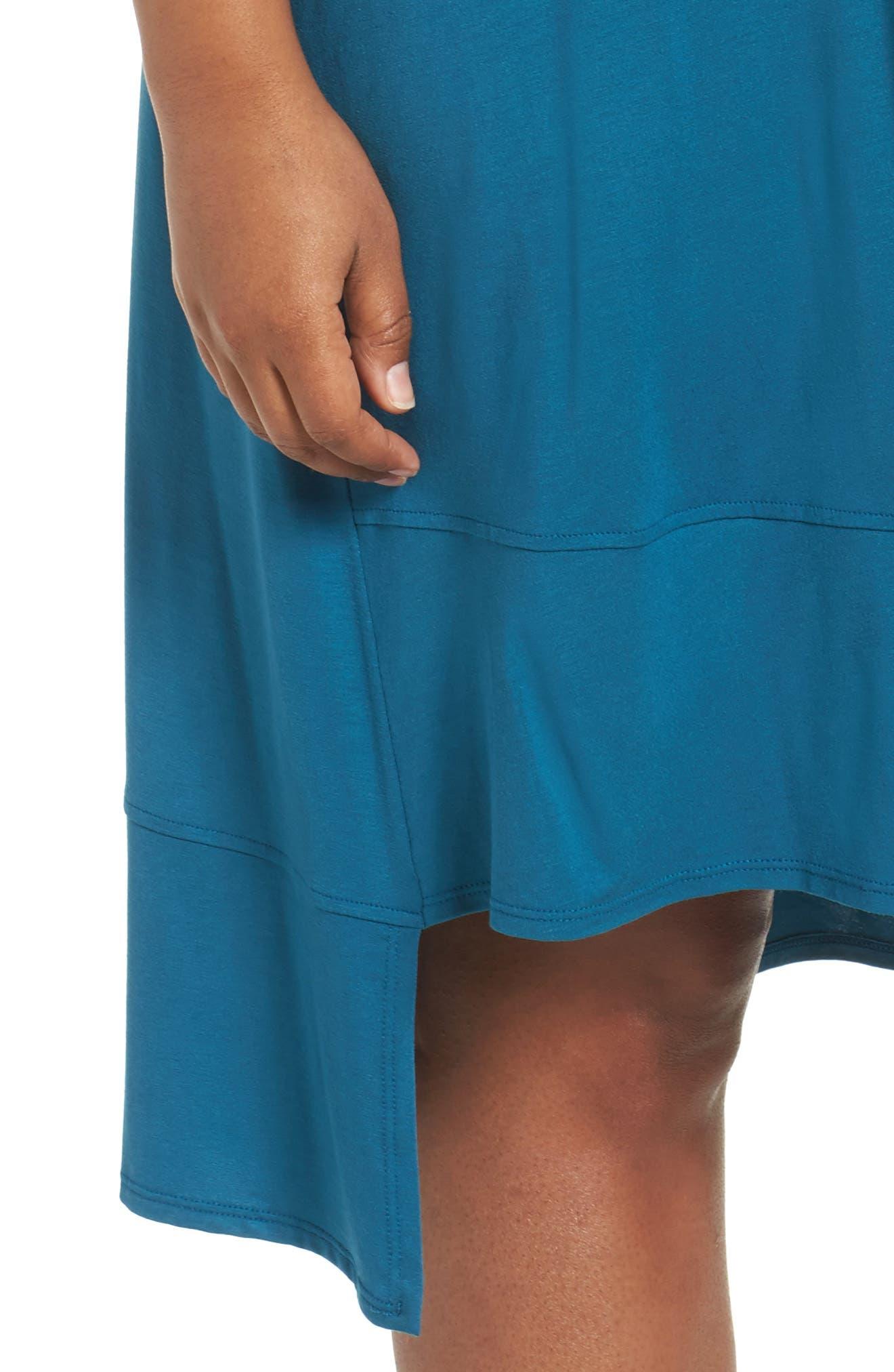 Jersey Shift Dress,                             Alternate thumbnail 15, color,