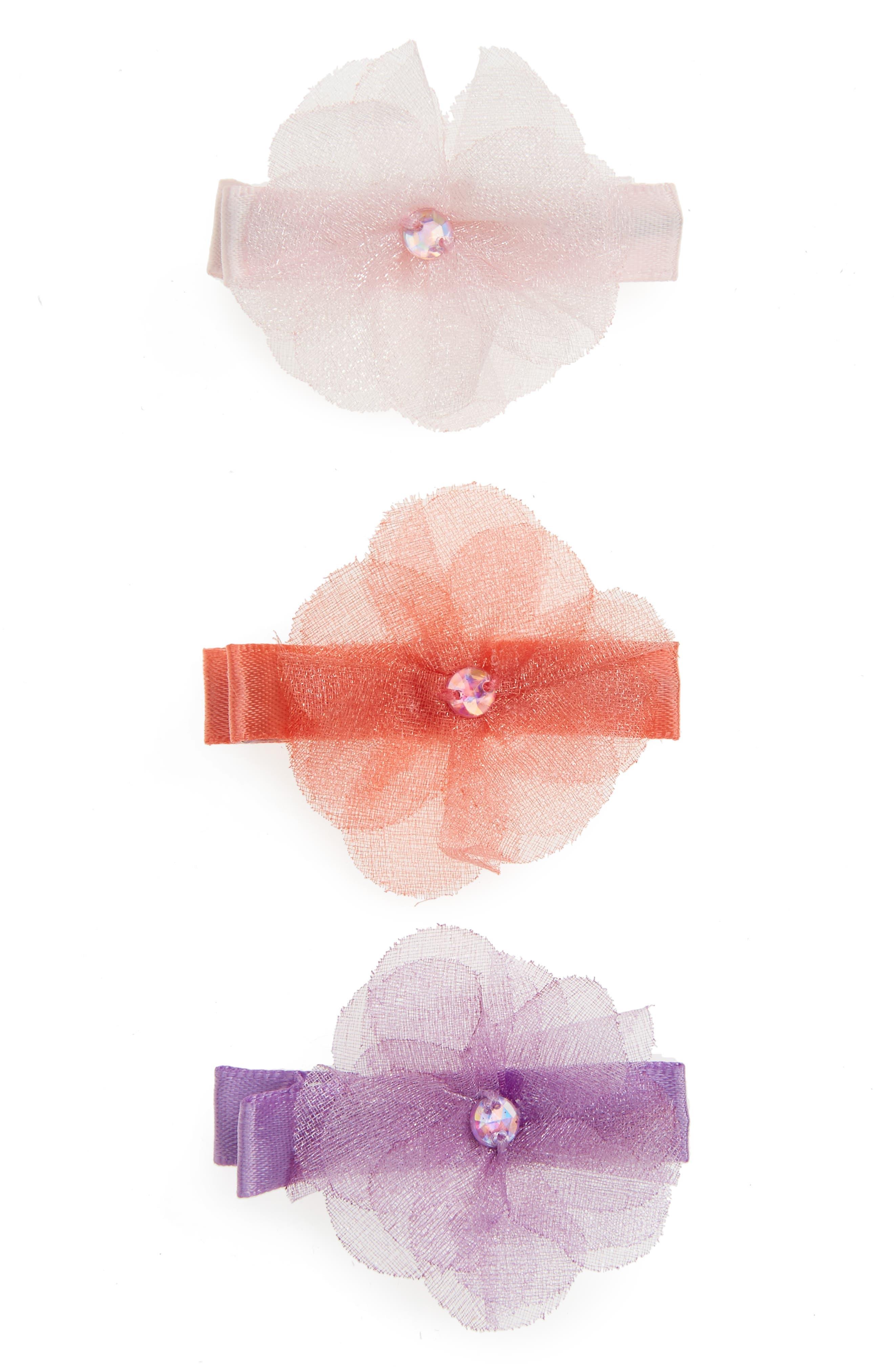 Set of 3 Hair Clips,                             Main thumbnail 1, color,                             500