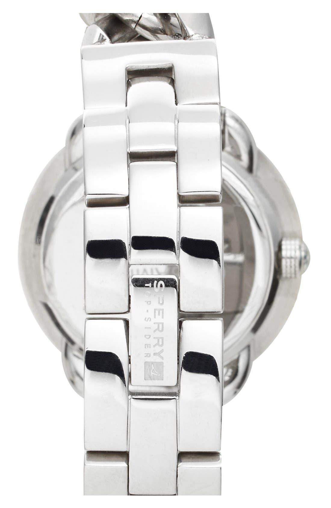 'Newport' Chain Link Bracelet Watch, 36mm,                             Alternate thumbnail 2, color,                             040