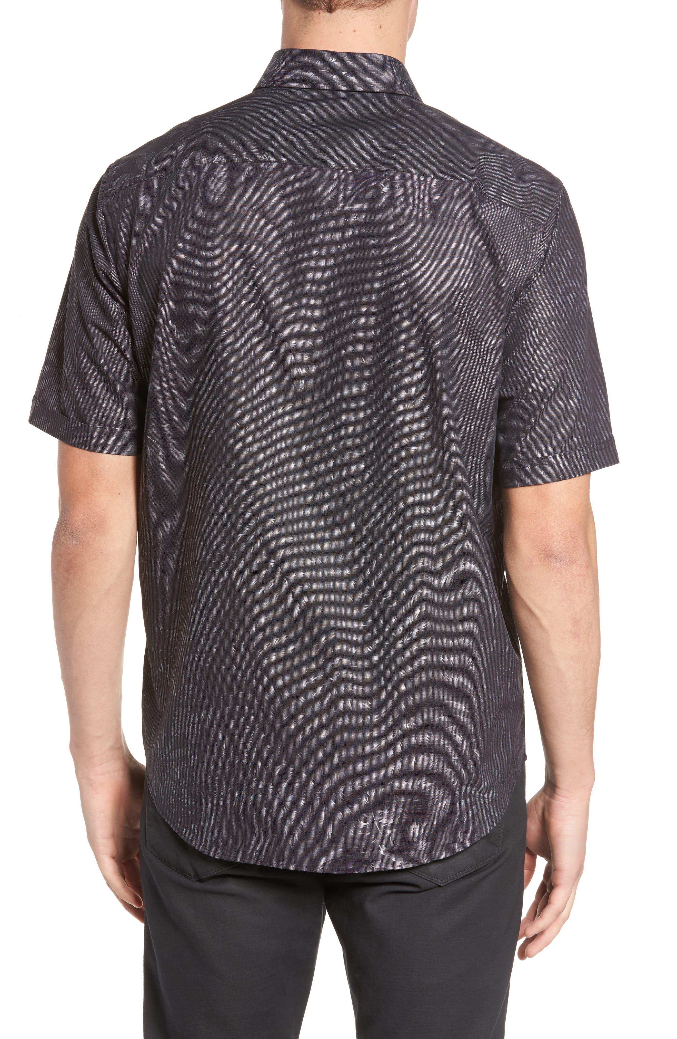 Classic Fit Print Sport Shirt,                             Alternate thumbnail 2, color,