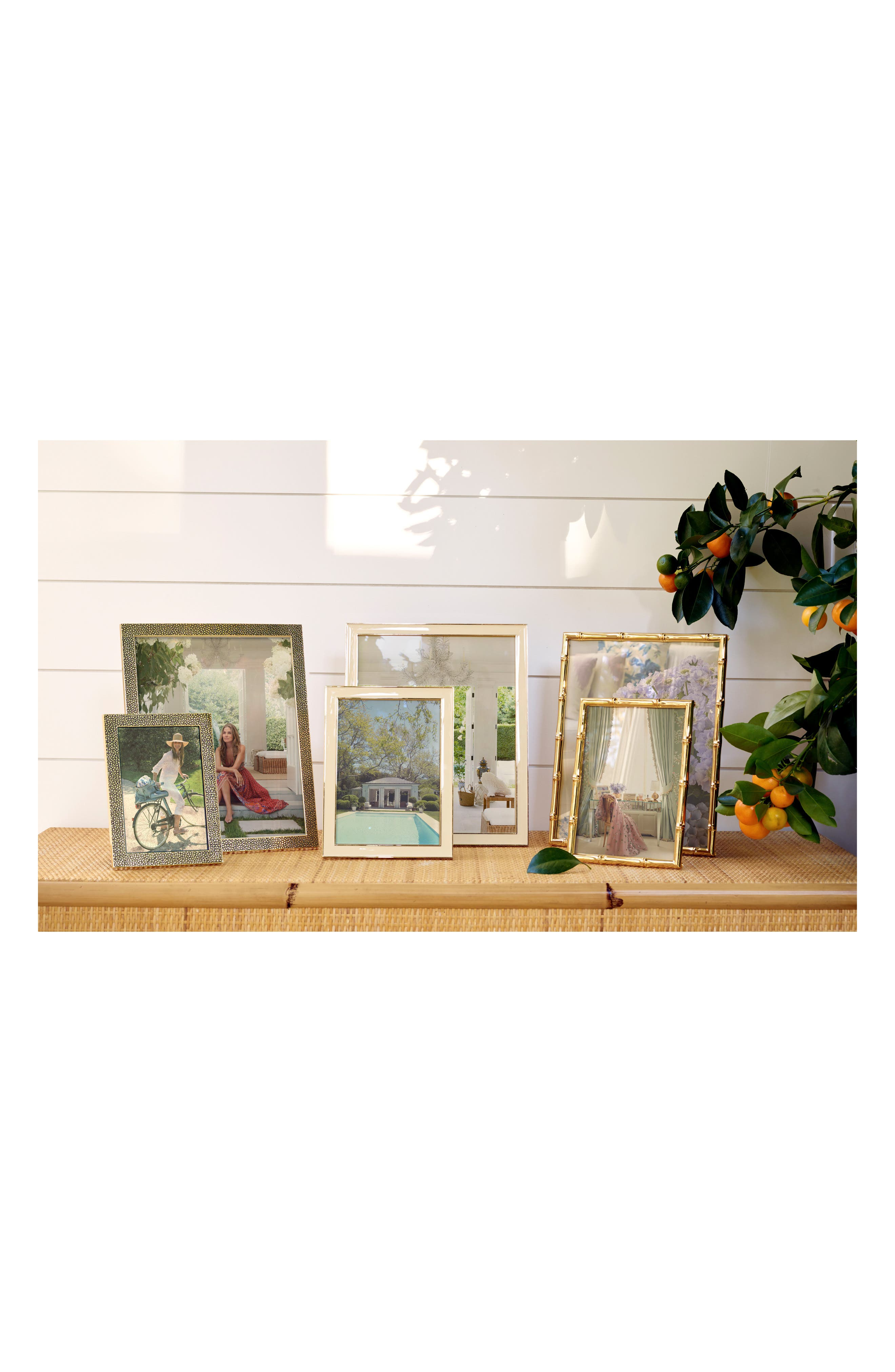 Camille Picture Frame,                             Alternate thumbnail 2, color,                             CREAM