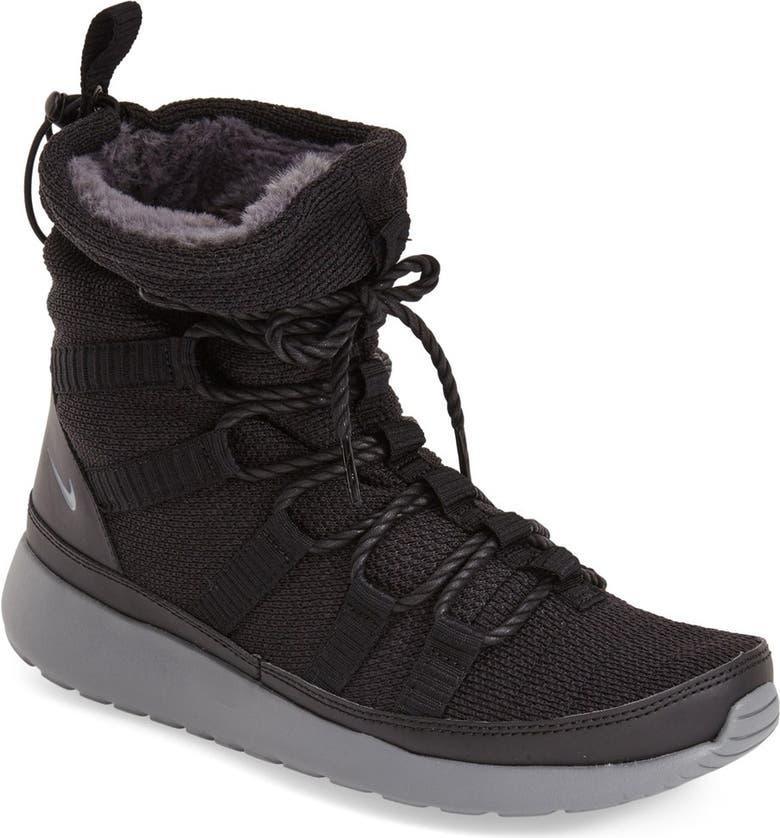 371dbc713b07c7 NIKE  Roshe One Hi  Water Resistant Sneaker Boot