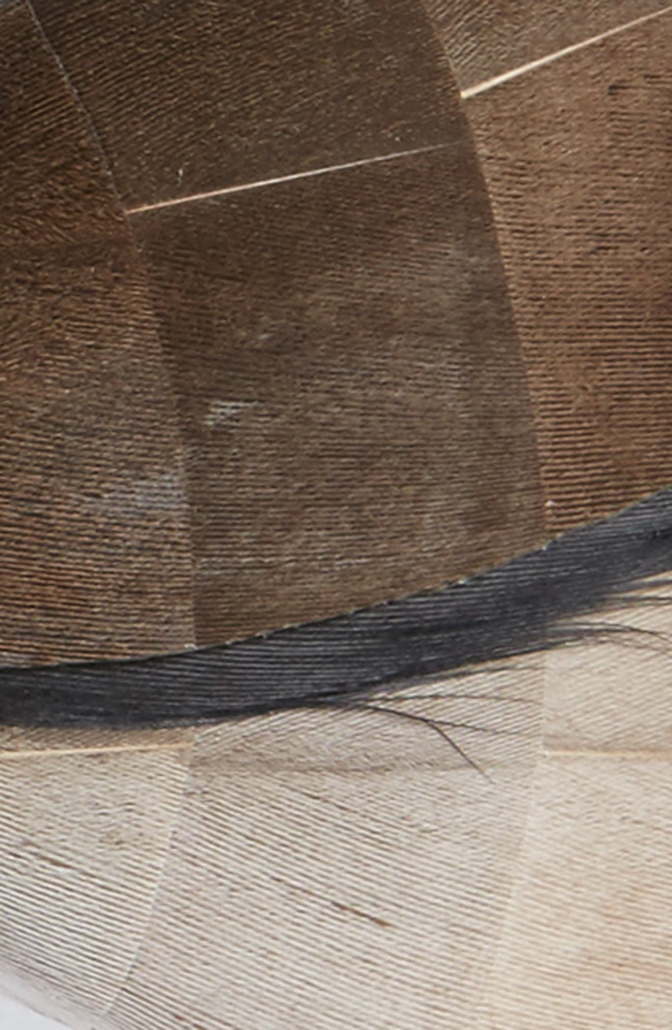 Kiawah Feather Bow Tie,                             Alternate thumbnail 2, color,                             200