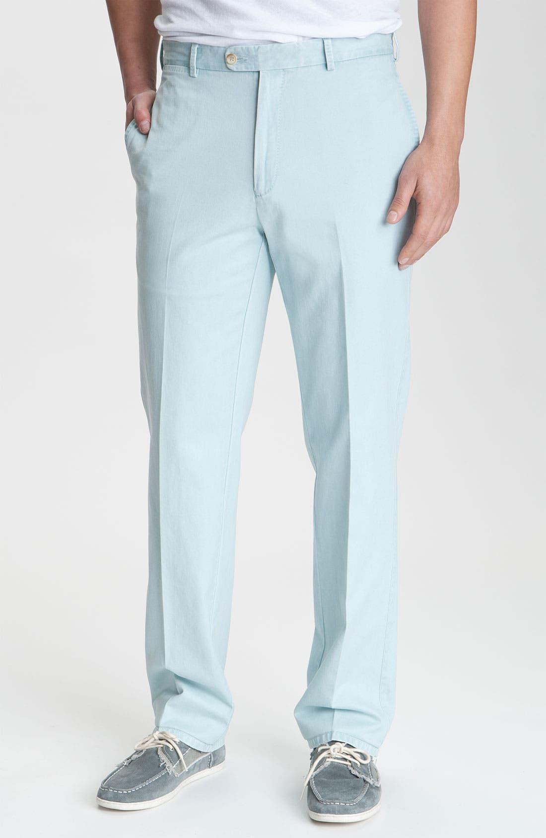 Garment Washed Twill Pants,                             Main thumbnail 12, color,