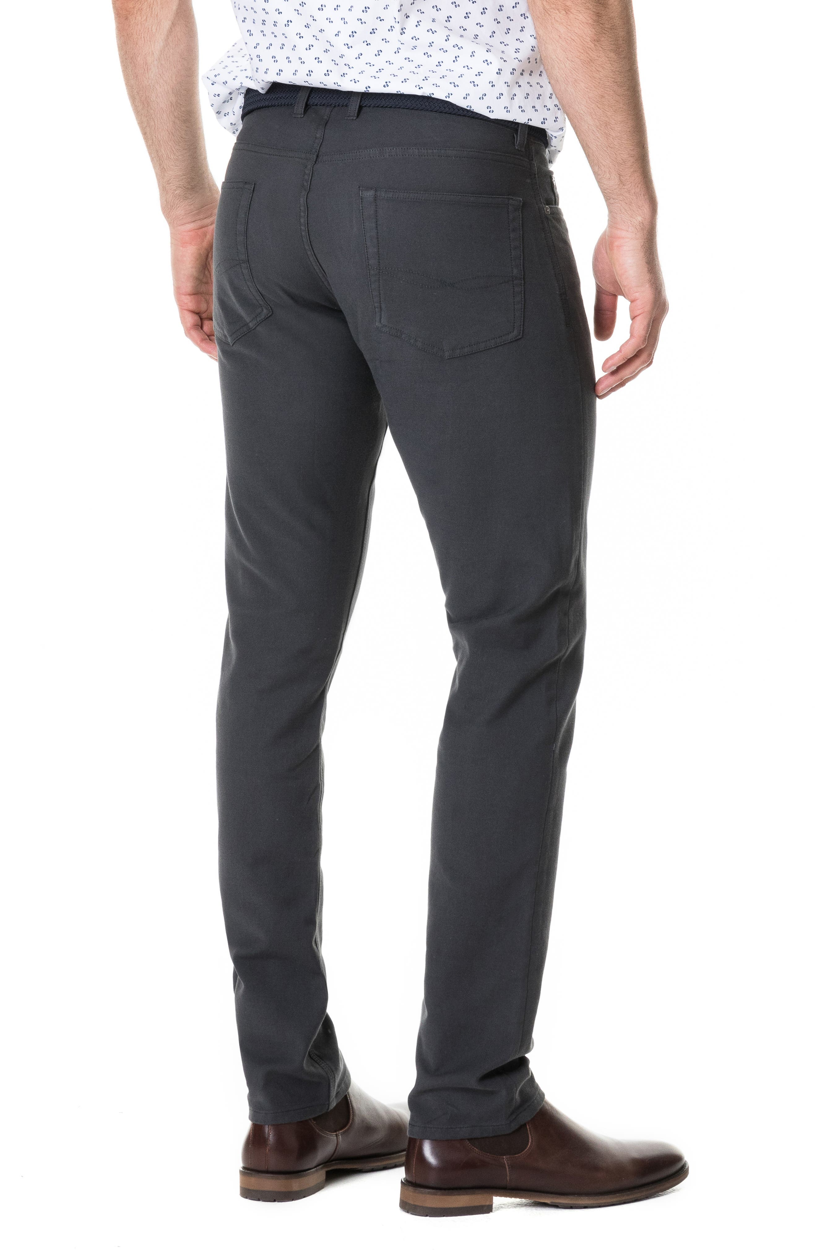 Motion Straight Fit Jeans,                             Alternate thumbnail 2, color,                             COAL