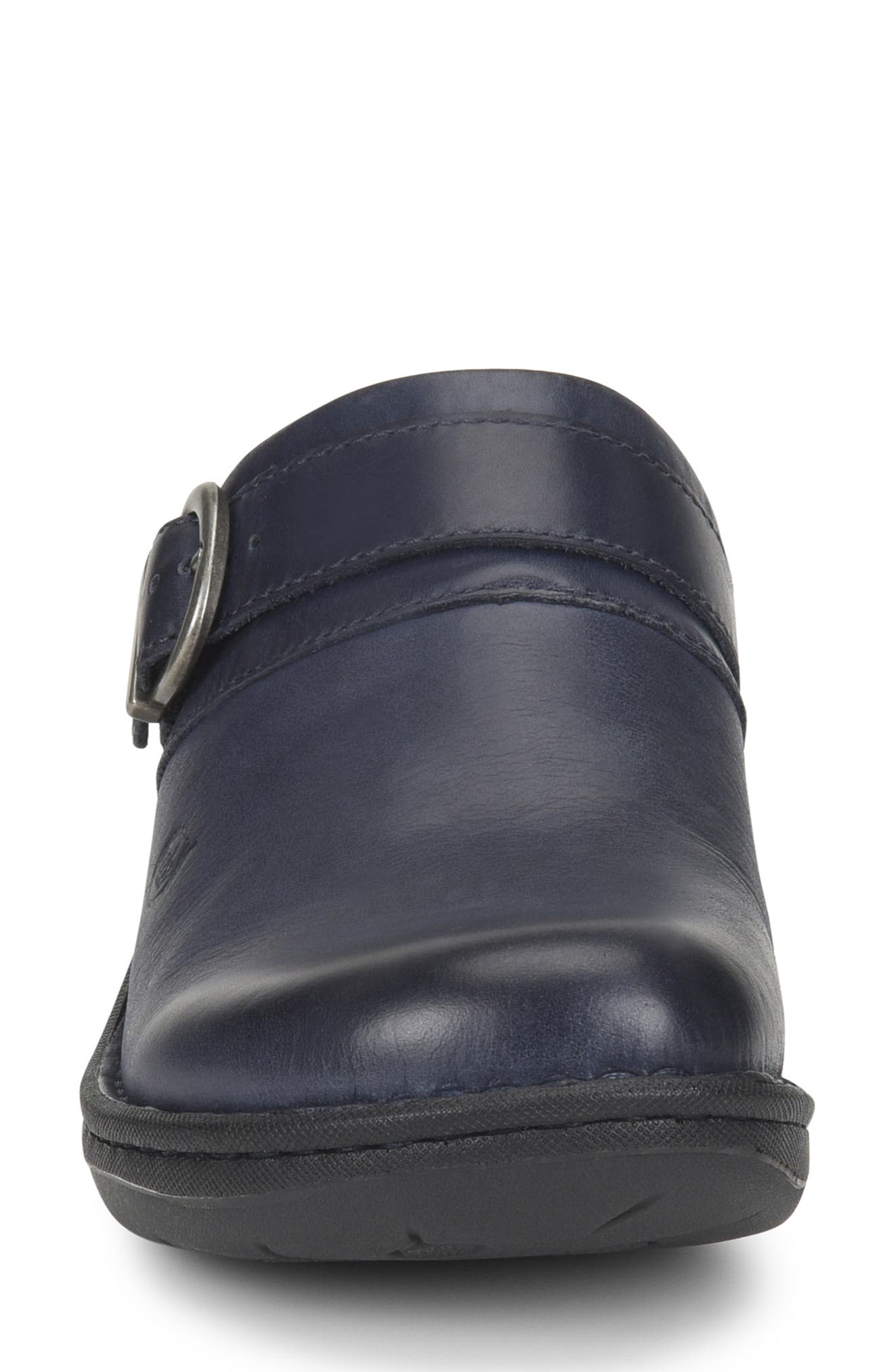 Avoca Clog,                             Alternate thumbnail 4, color,                             NAVY LEATHER