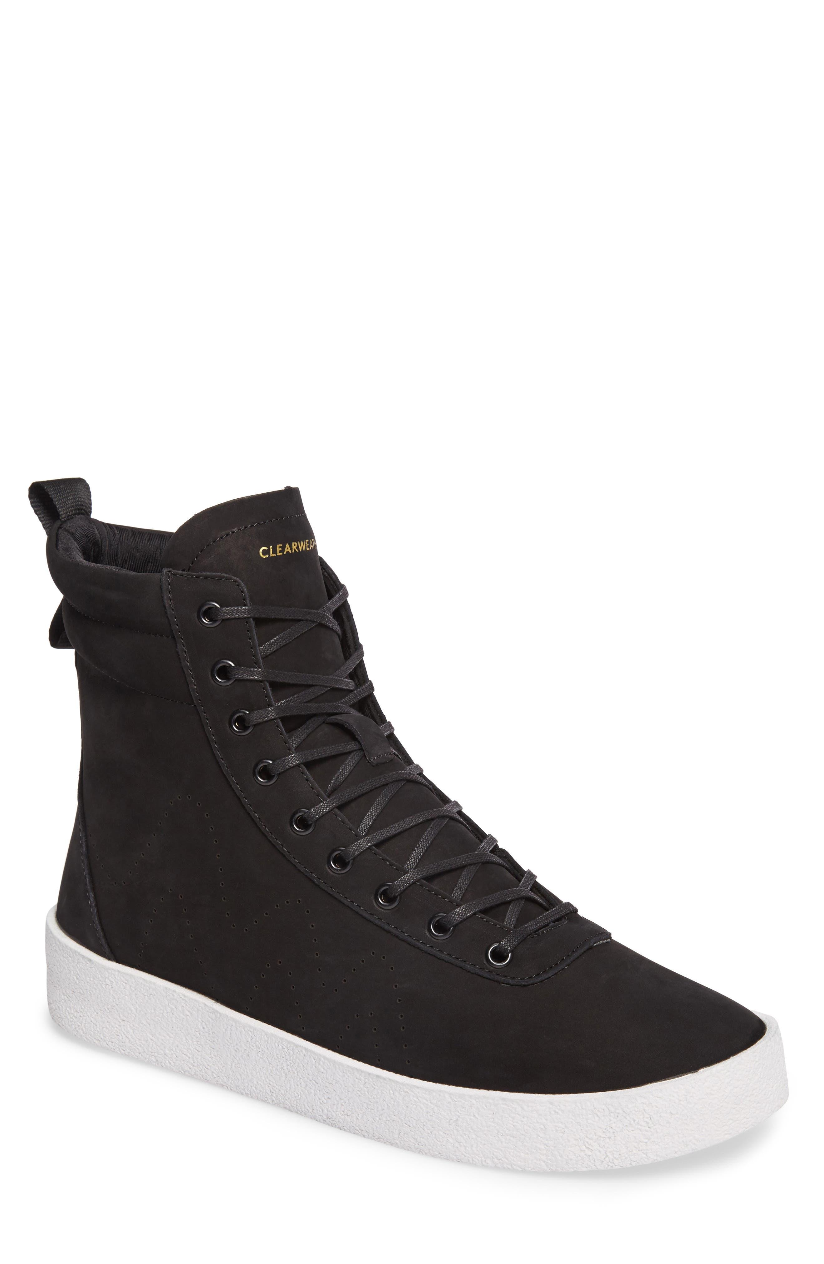 Highlander High Top Sneaker,                             Main thumbnail 1, color,                             001