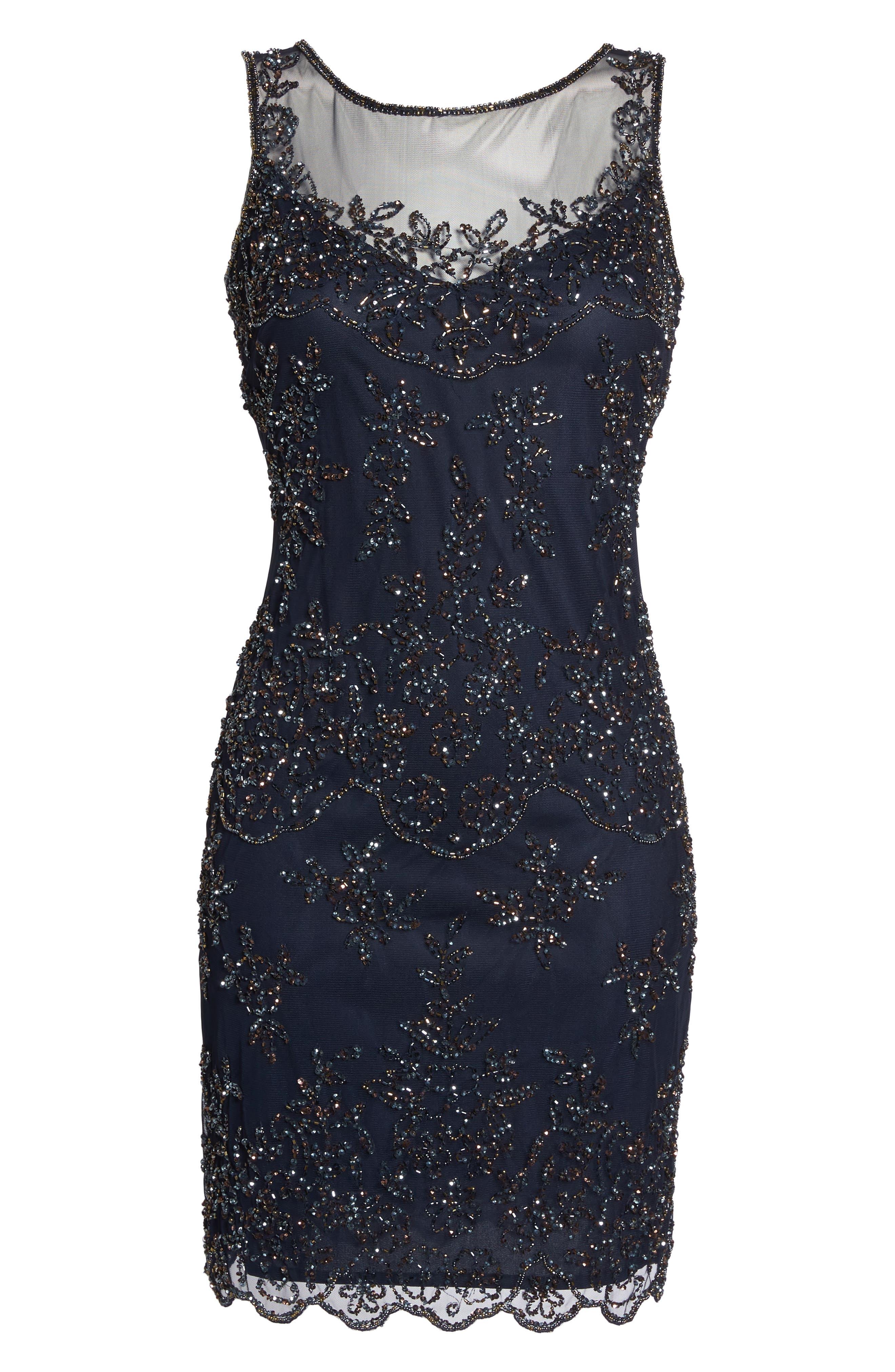 Embellished Dress,                             Alternate thumbnail 6, color,                             410