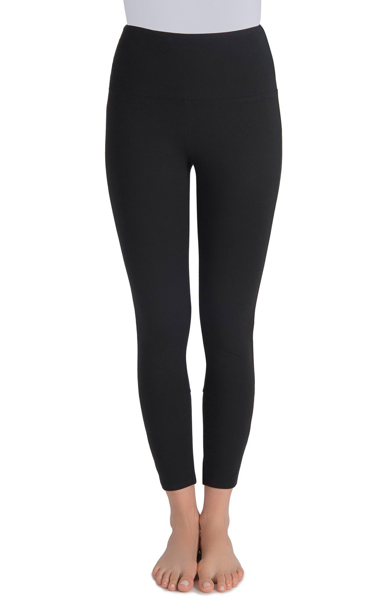 Harper High Waist Leggings,                         Main,                         color, BLACK