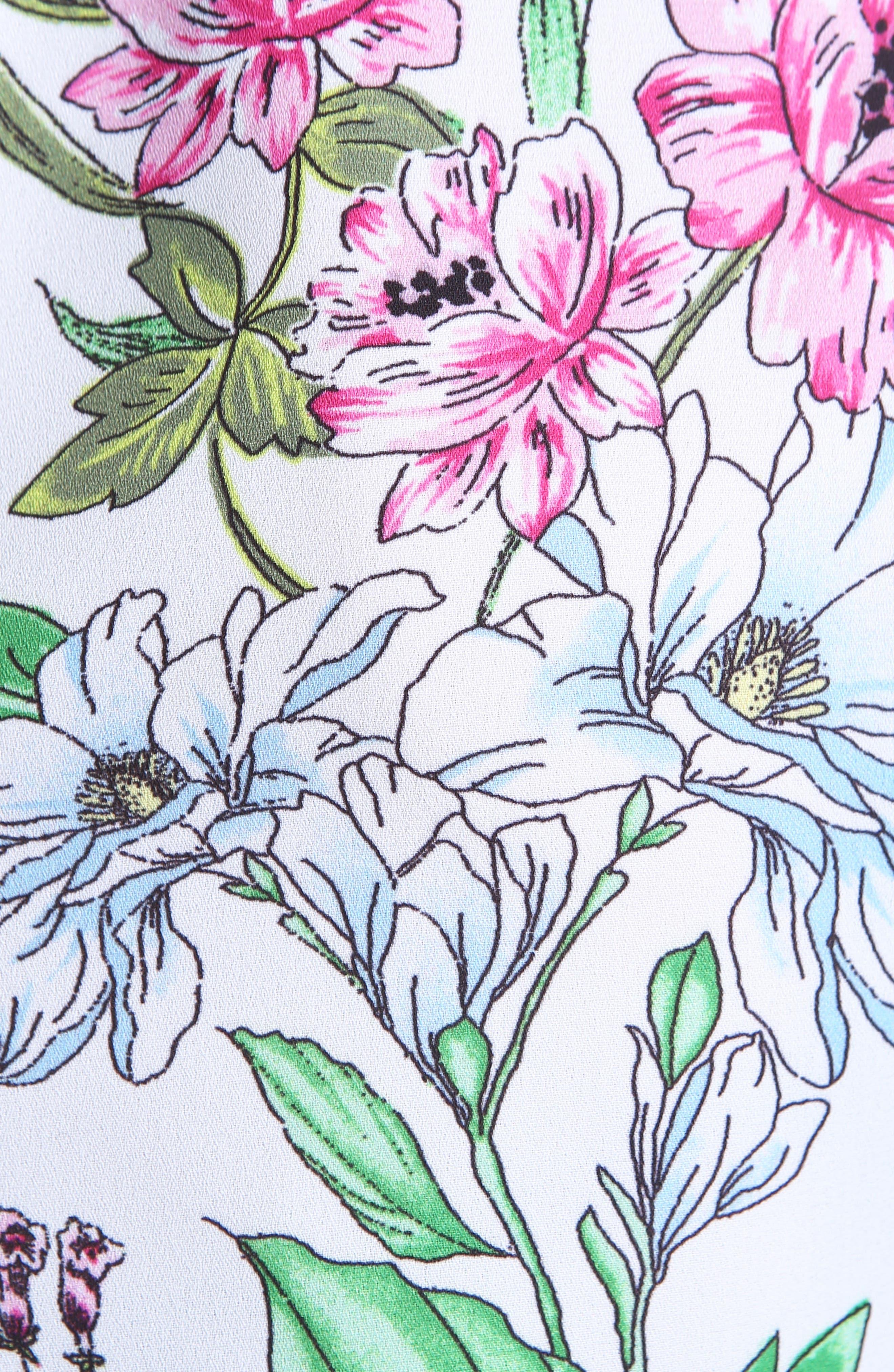 Kut From The Kloth Belinda Blouse,                             Alternate thumbnail 5, color,                             100