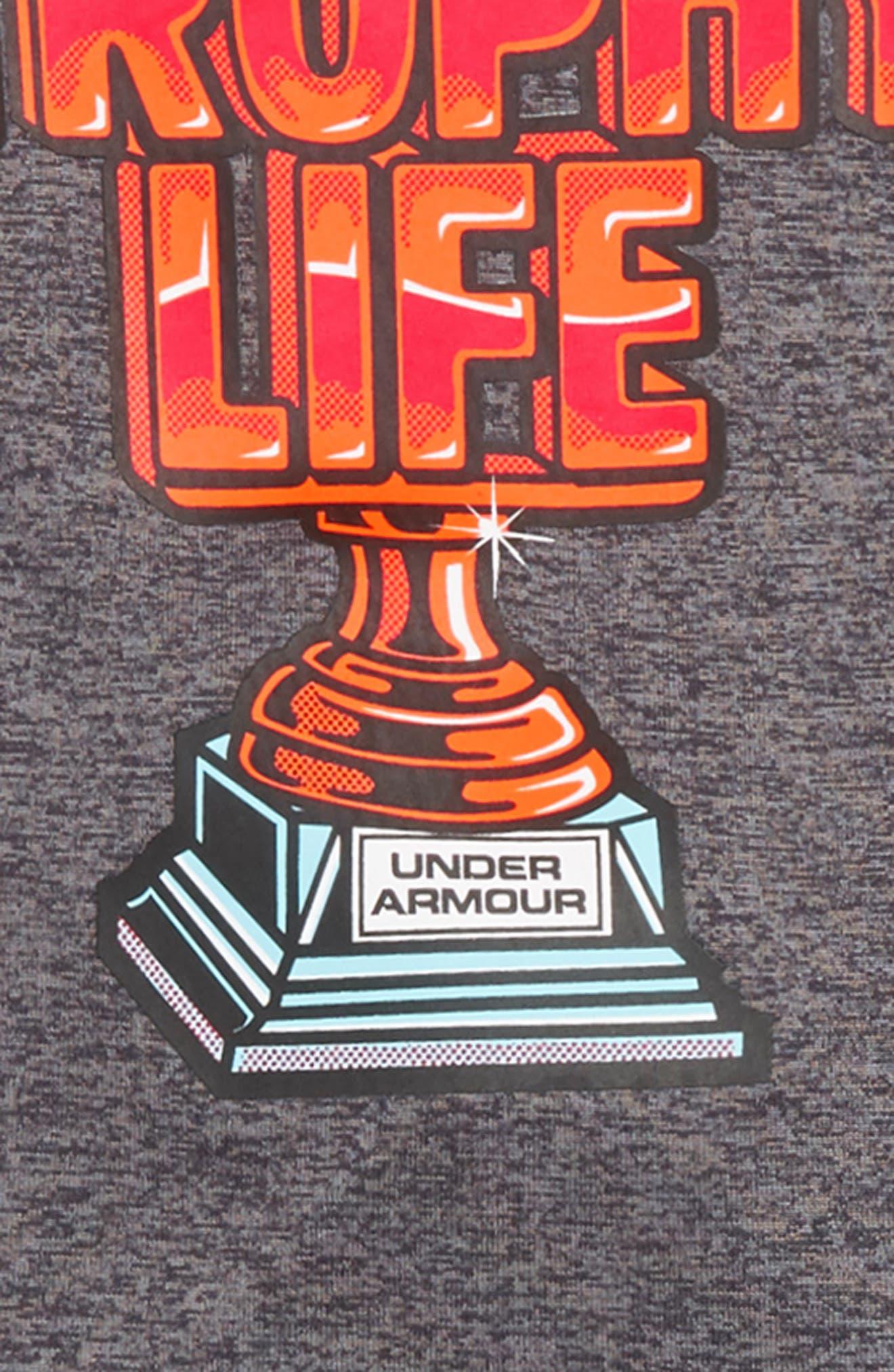 Trophy T-Shirt and Pants Set,                             Alternate thumbnail 2, color,                             CARBON HEATHER
