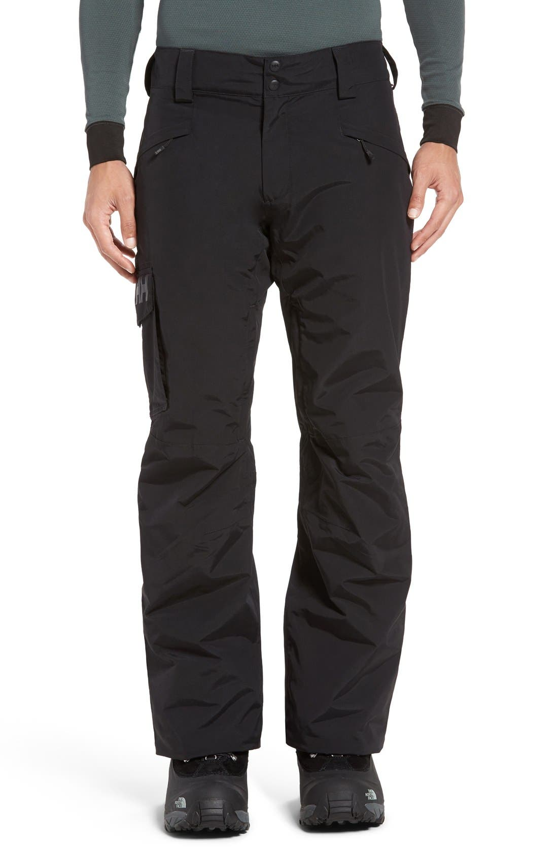 'Sogn' Waterproof PrimaLoft<sup>®</sup> Cargo Snow Pants,                             Main thumbnail 3, color,