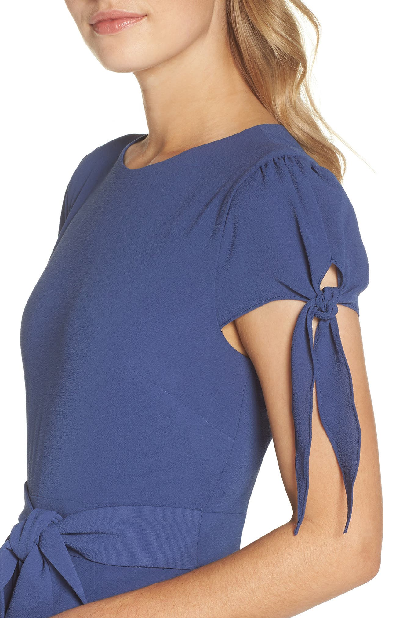 Bette Pleated Midi Dress,                             Alternate thumbnail 4, color,                             405