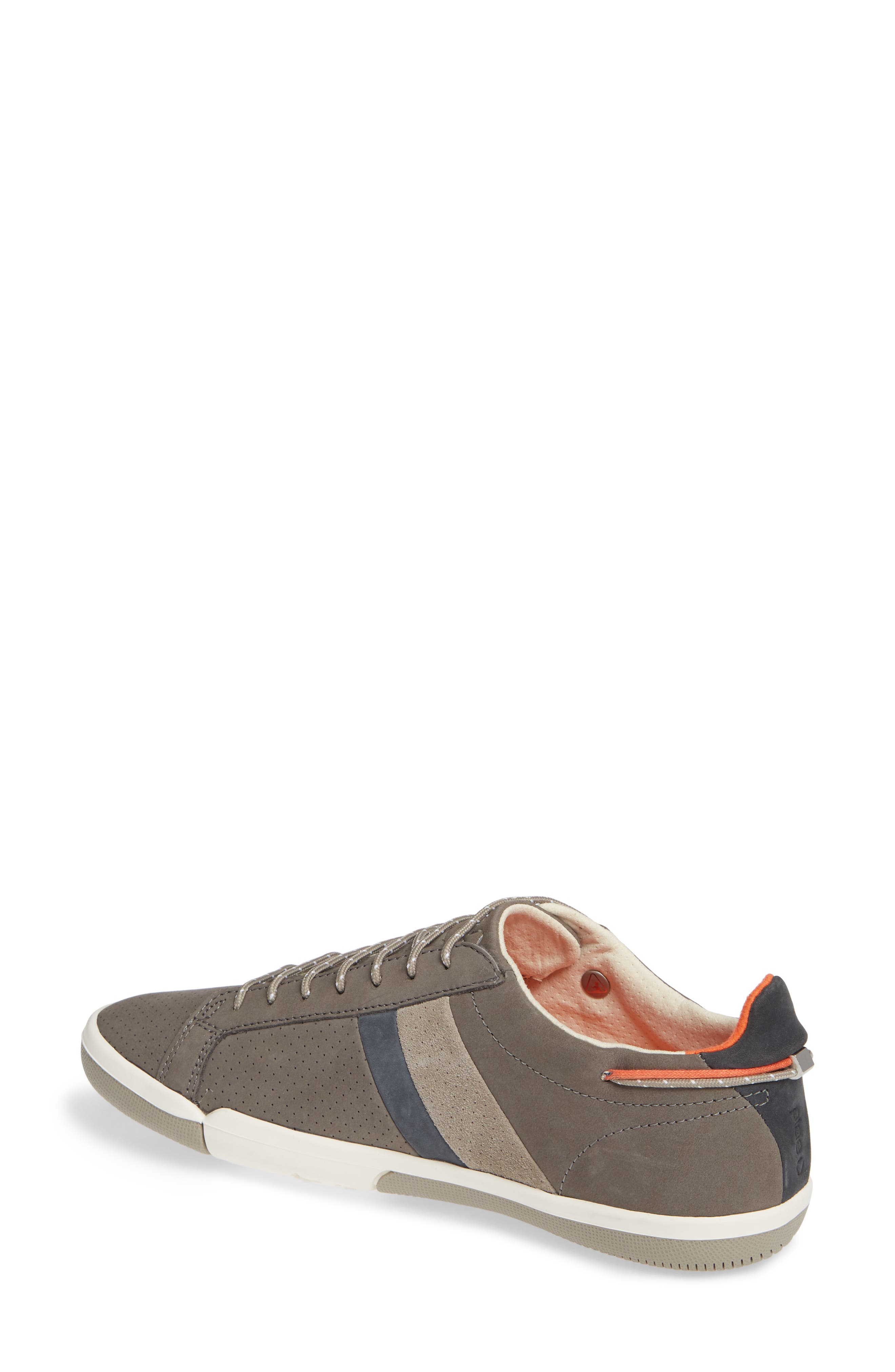 Mulberry Sneaker,                             Alternate thumbnail 2, color,                             GREY NUBUCK LEATHER