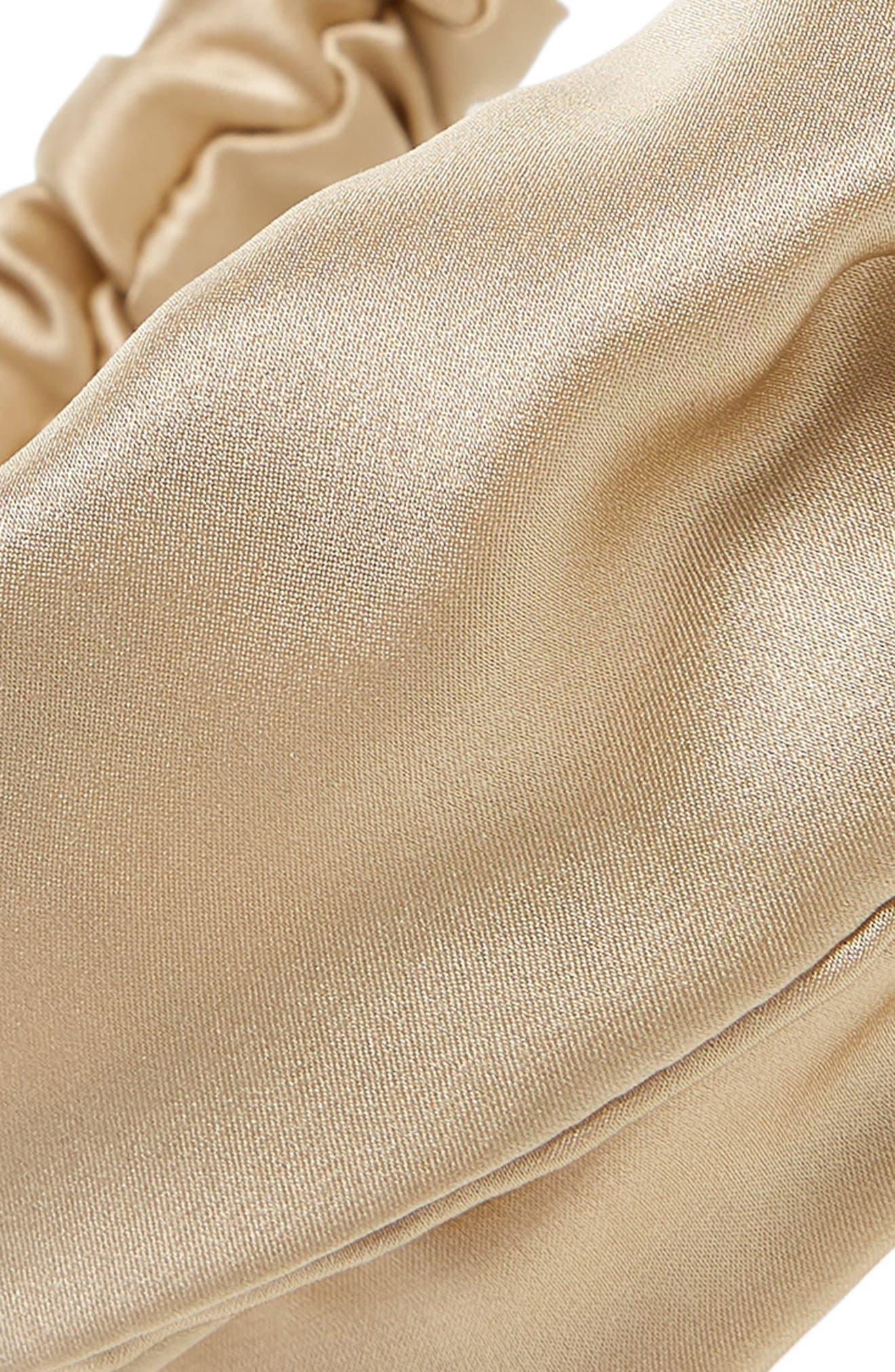 ChaCha Silk Turban Head Wrap,                             Alternate thumbnail 3, color,