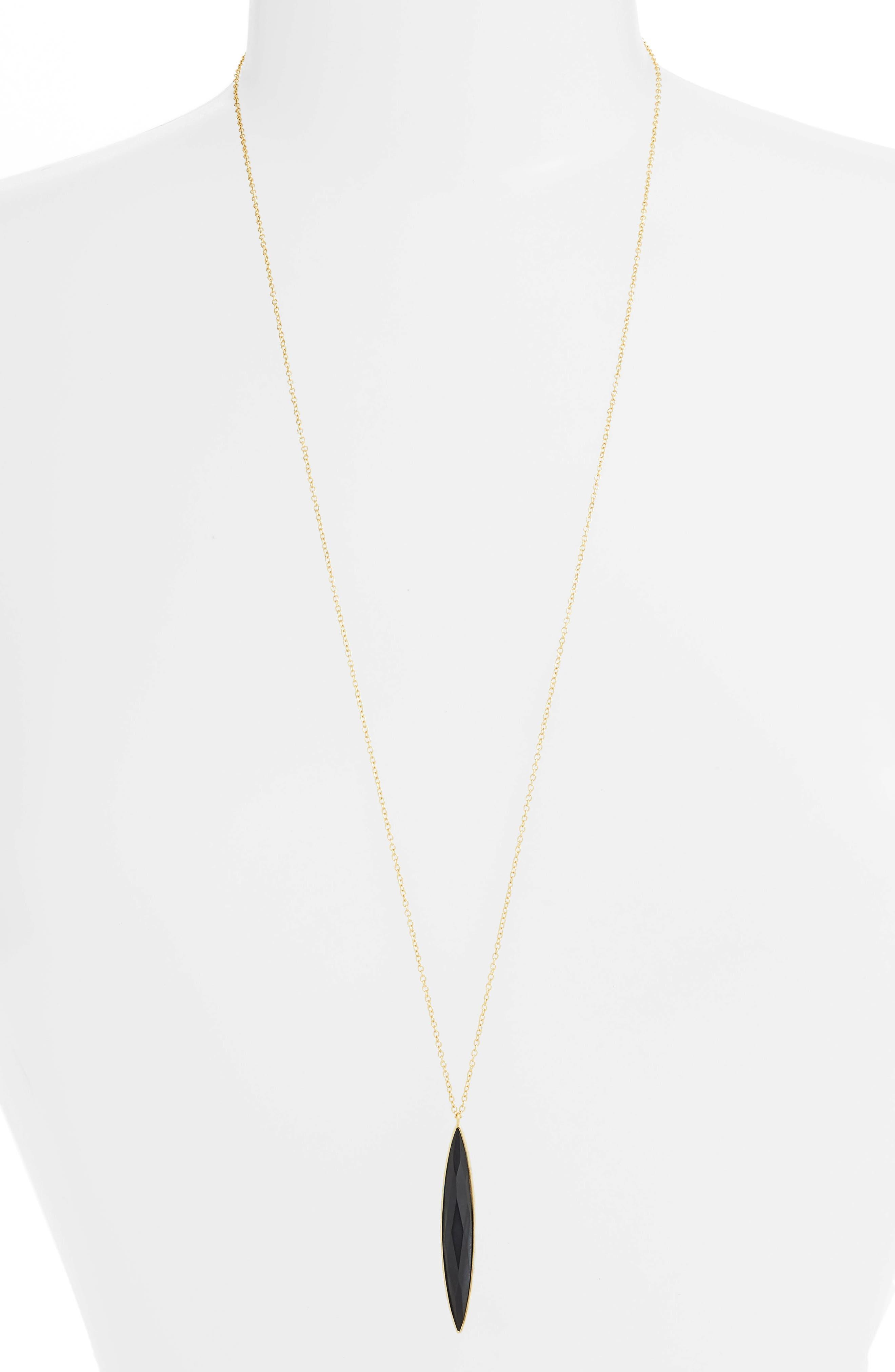 Palisades Adjustable Pendant Necklace,                         Main,                         color, 001