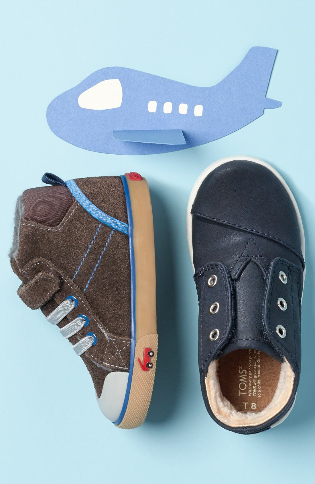 Dane Sneaker,                             Alternate thumbnail 7, color,                             CHAMBRAY MULTI