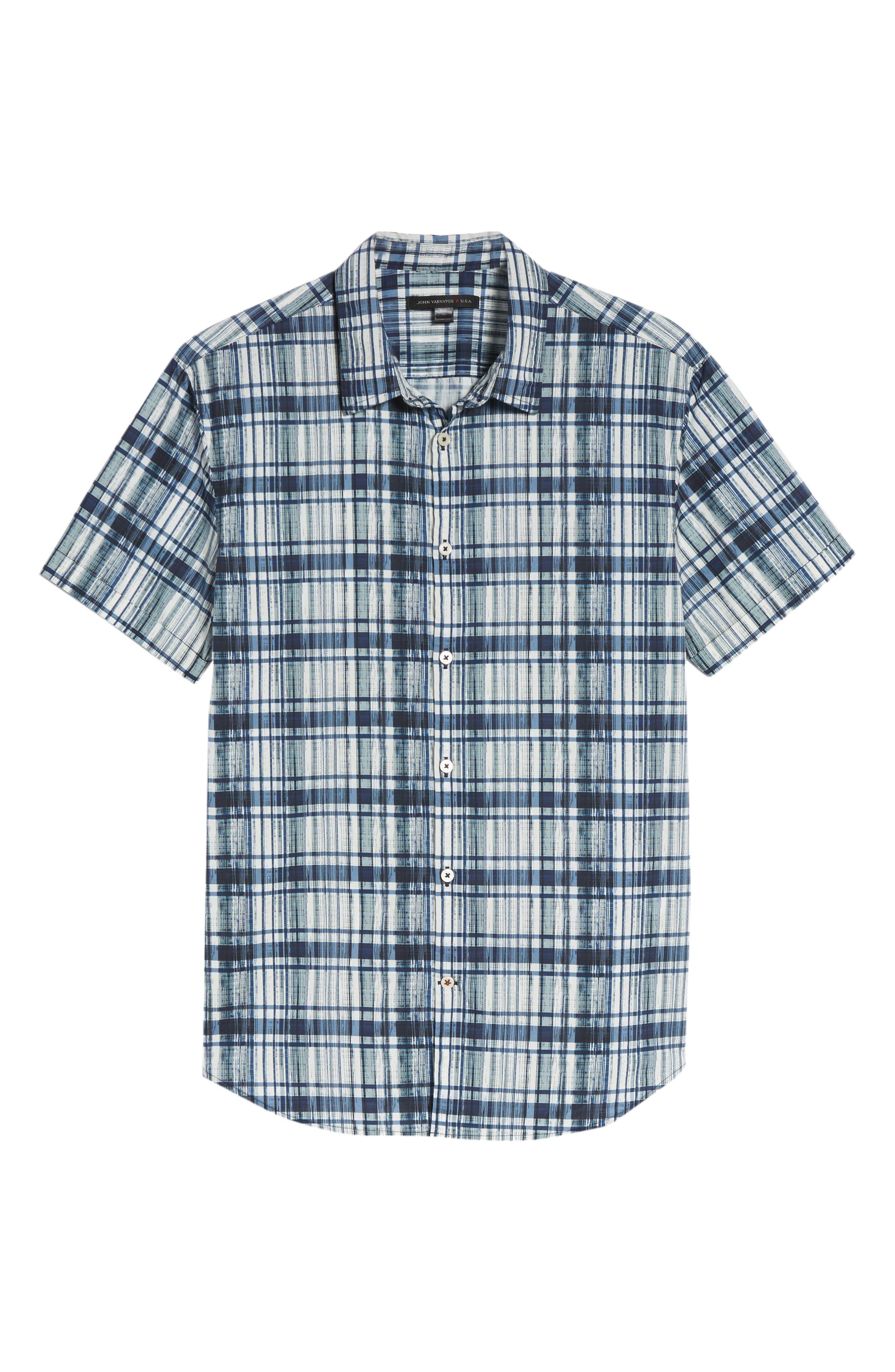 Regular Fit Sport Shirt,                             Alternate thumbnail 6, color,                             417