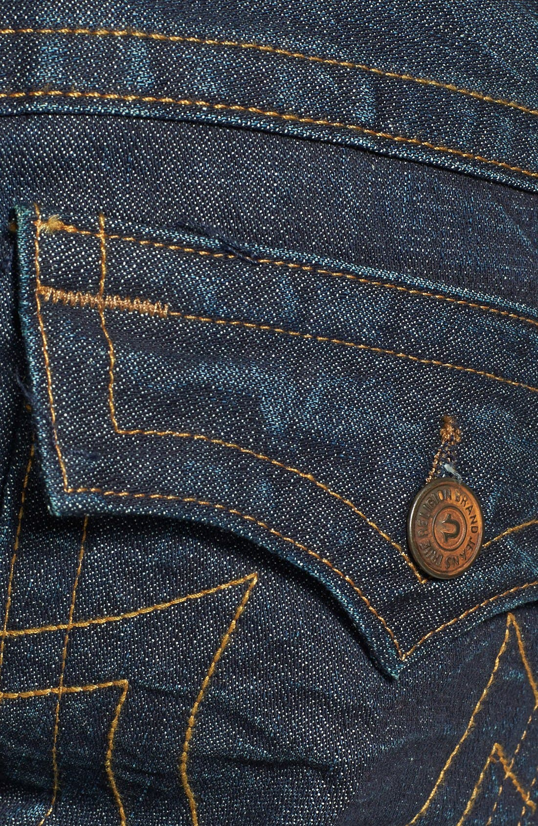 'Ricky' Relaxed Straight Leg Jeans,                             Alternate thumbnail 4, color,                             400