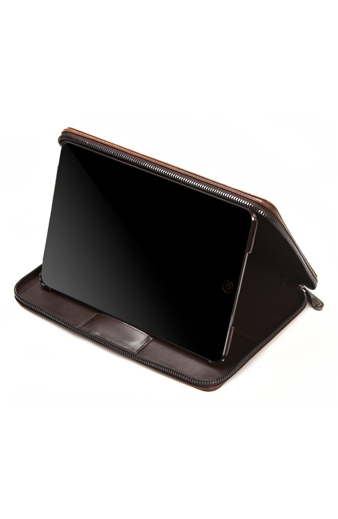 'Heritage' iPad mini Zip Case,                             Alternate thumbnail 3, color,