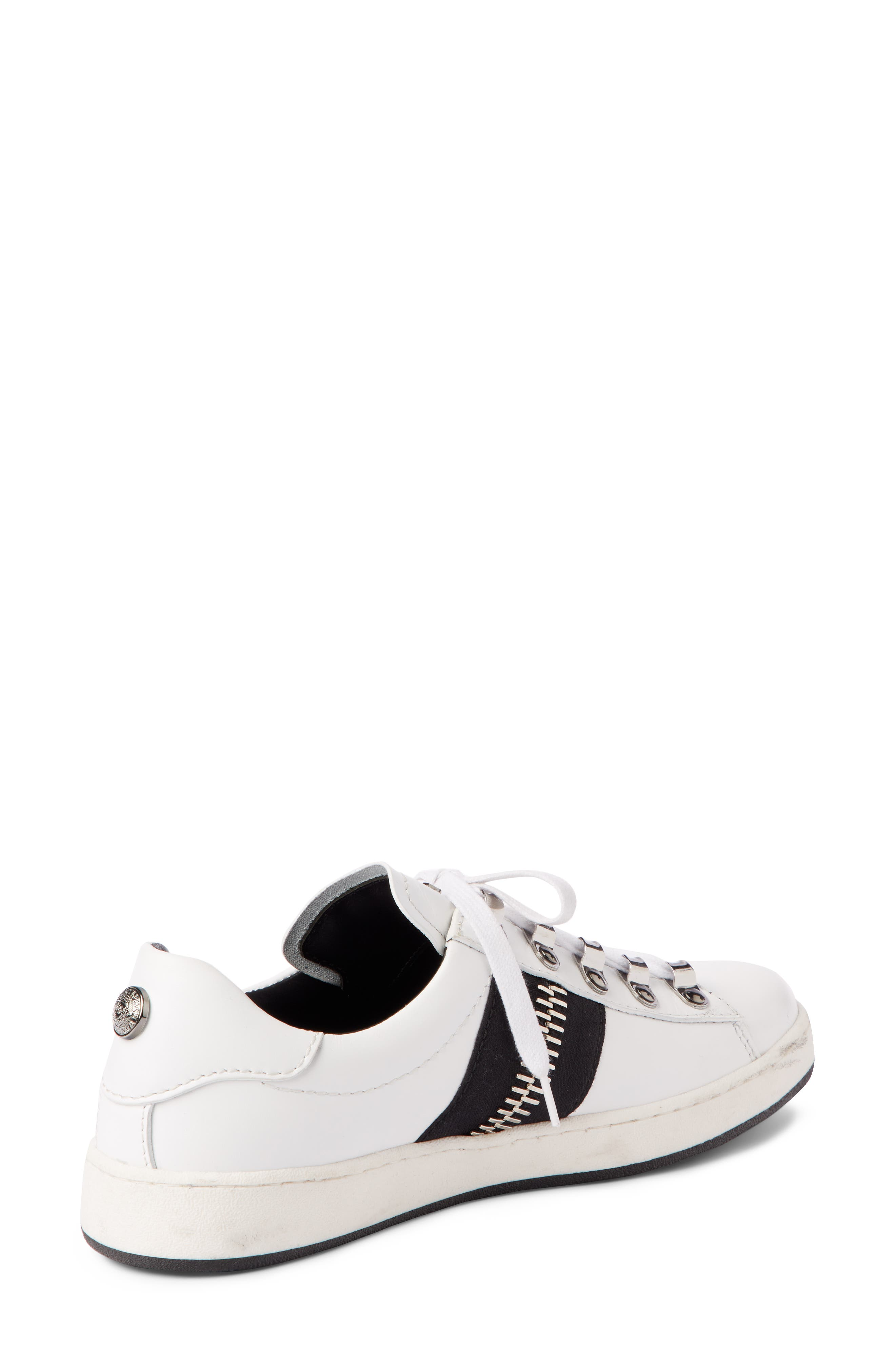 Esther Low Top Sneaker,                             Alternate thumbnail 2, color,                             WHITE