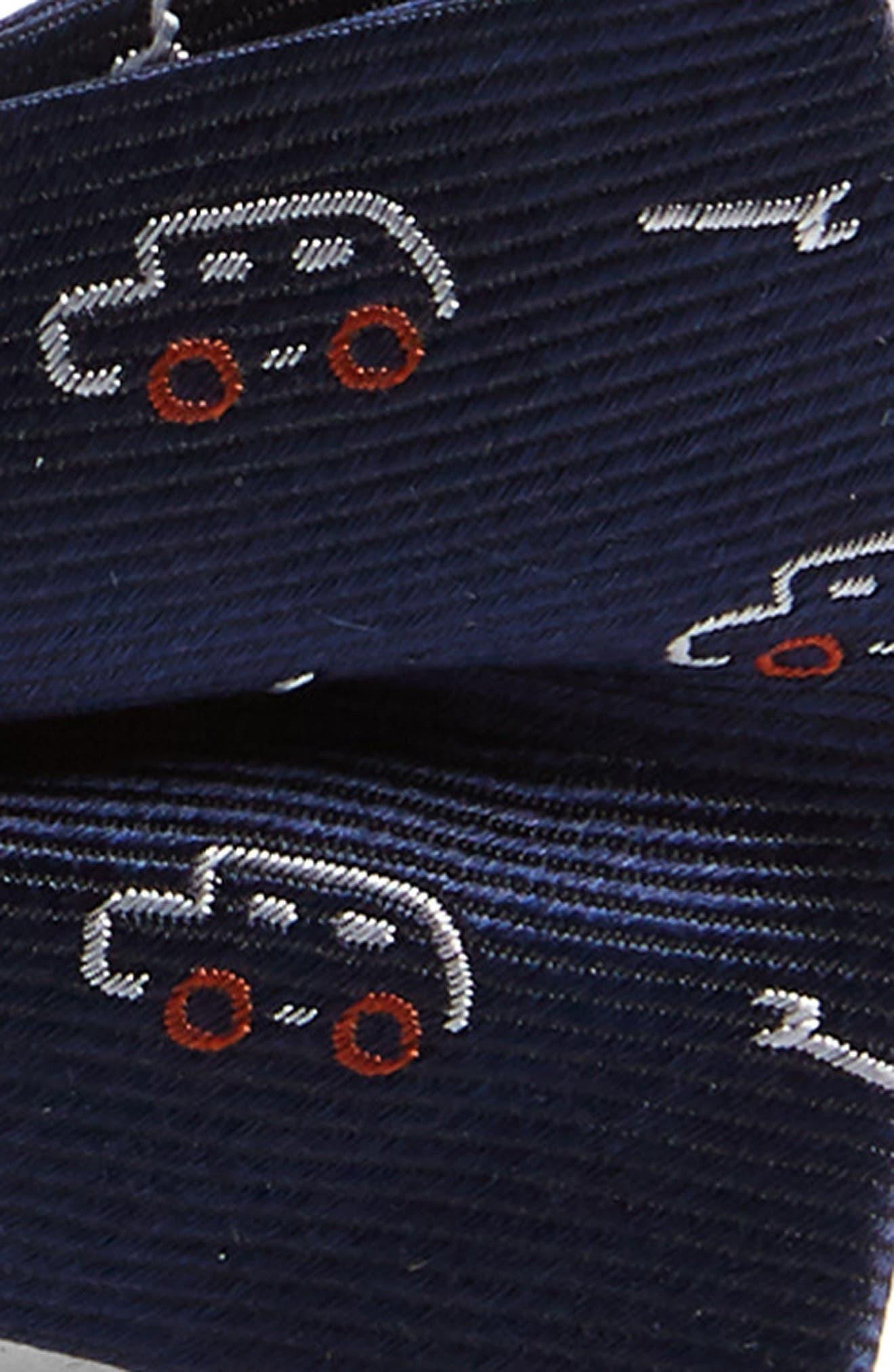 Print Silk Bow Tie,                             Alternate thumbnail 2, color,                             410