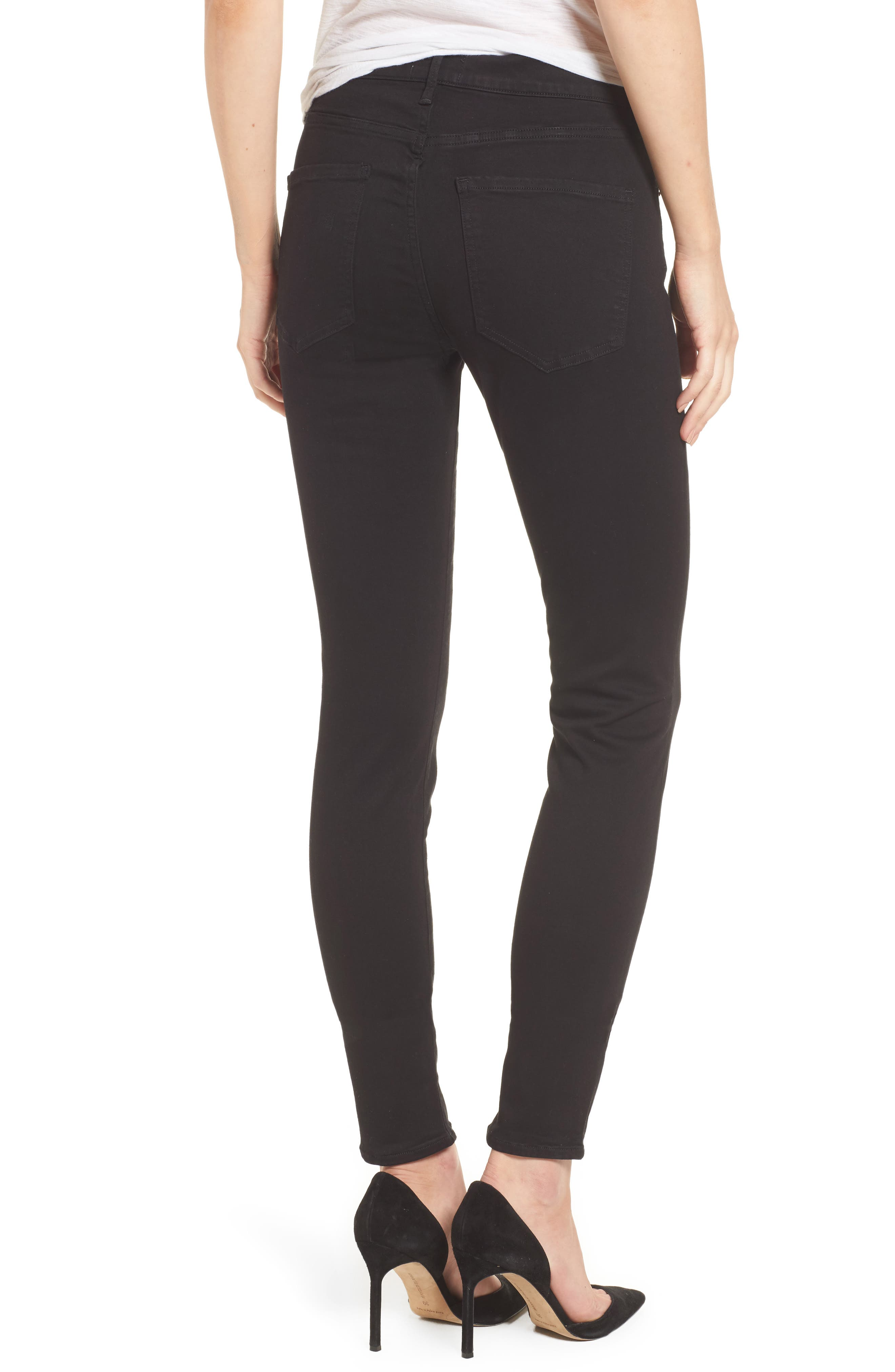 Sophie High Waist Skinny Jeans,                             Alternate thumbnail 2, color,                             002