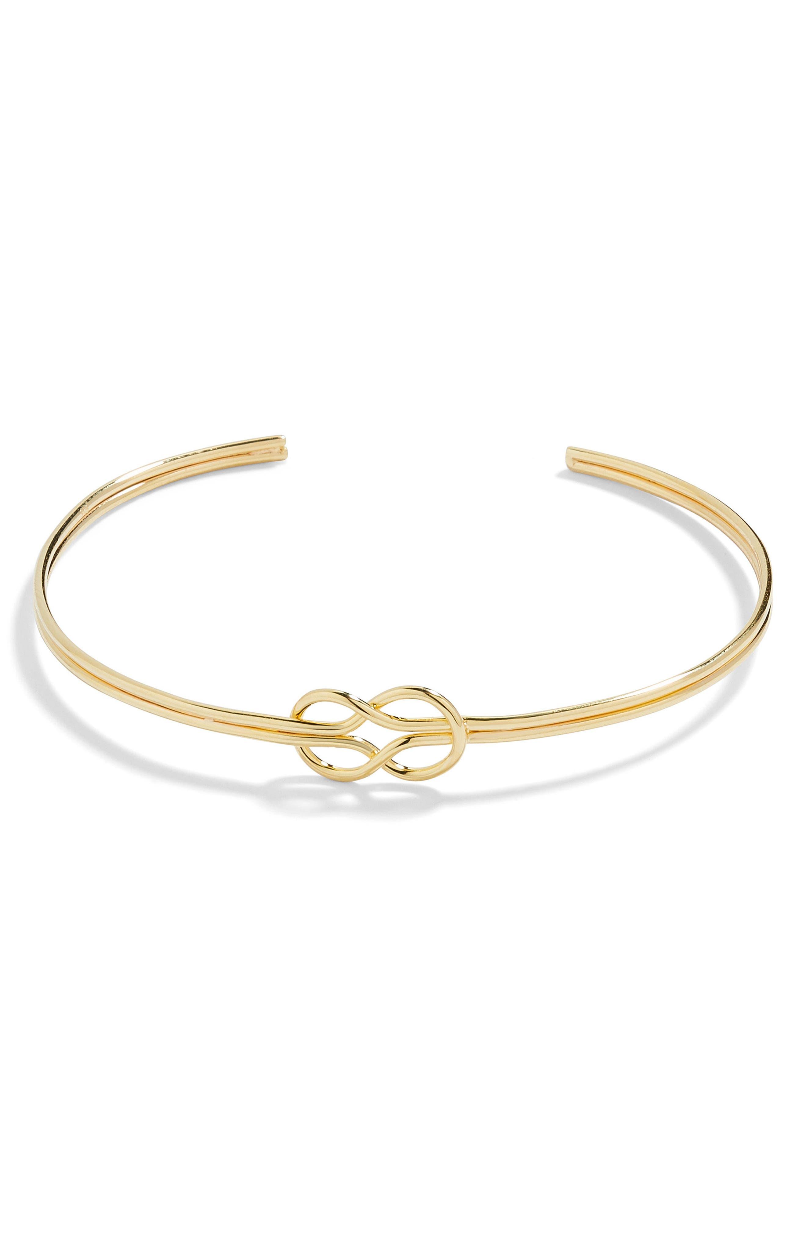 Knot Cuff Bracelet,                             Main thumbnail 1, color,                             710