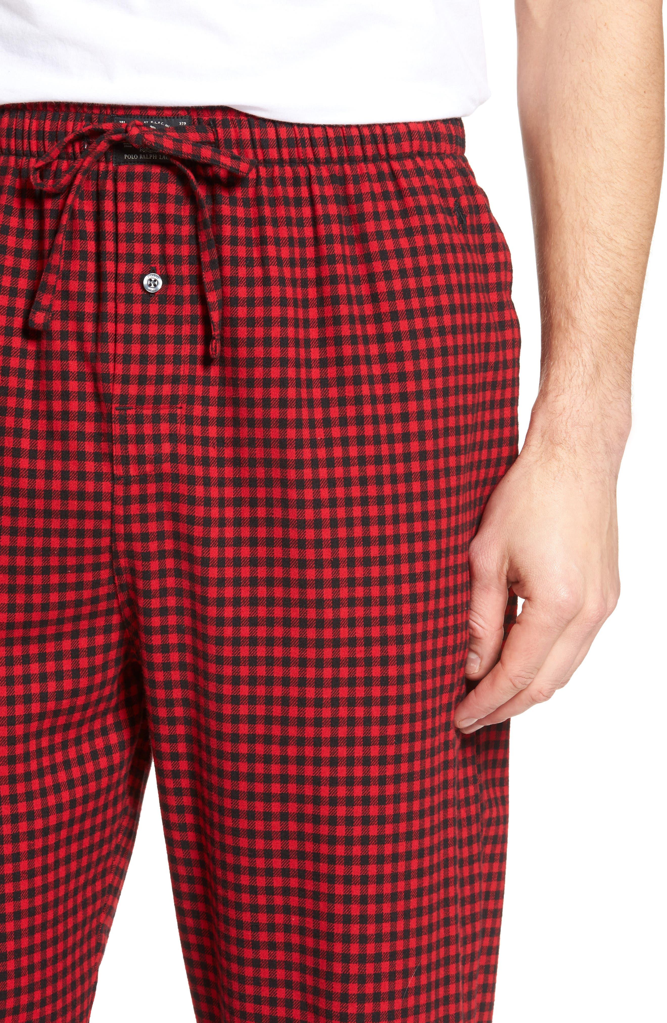 Flannel Pajama Pants,                             Alternate thumbnail 51, color,