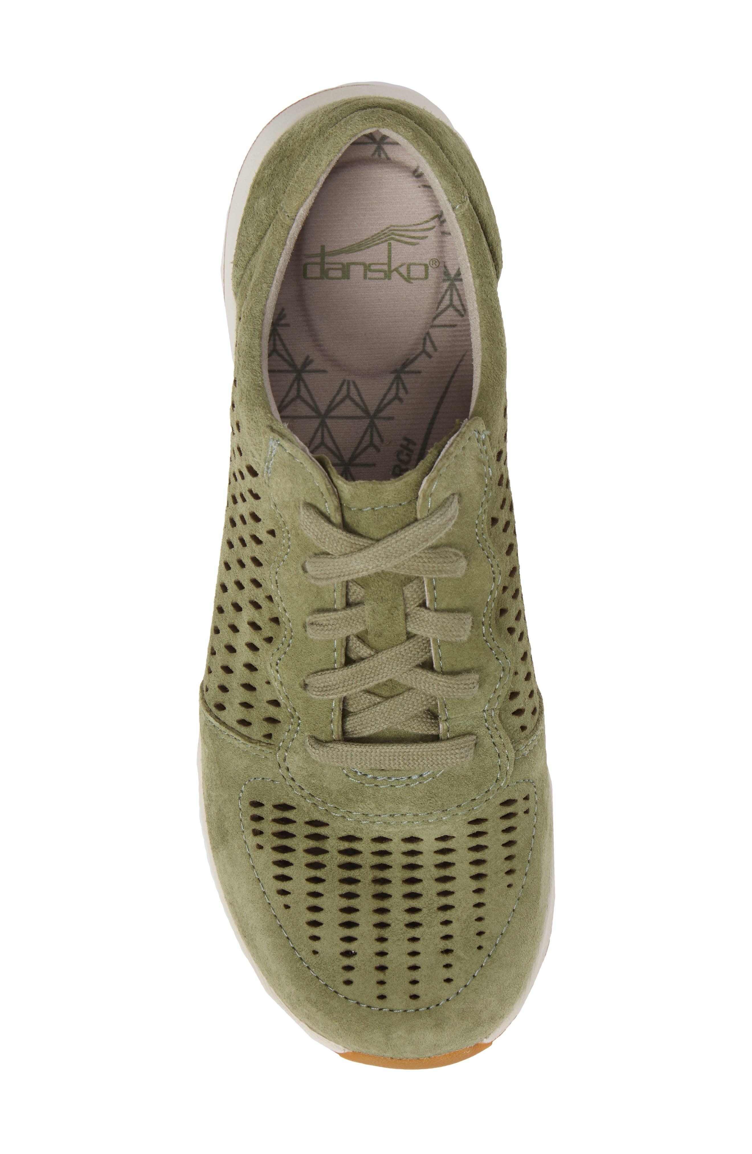 Charlie Perforated Sneaker,                             Alternate thumbnail 5, color,                             309