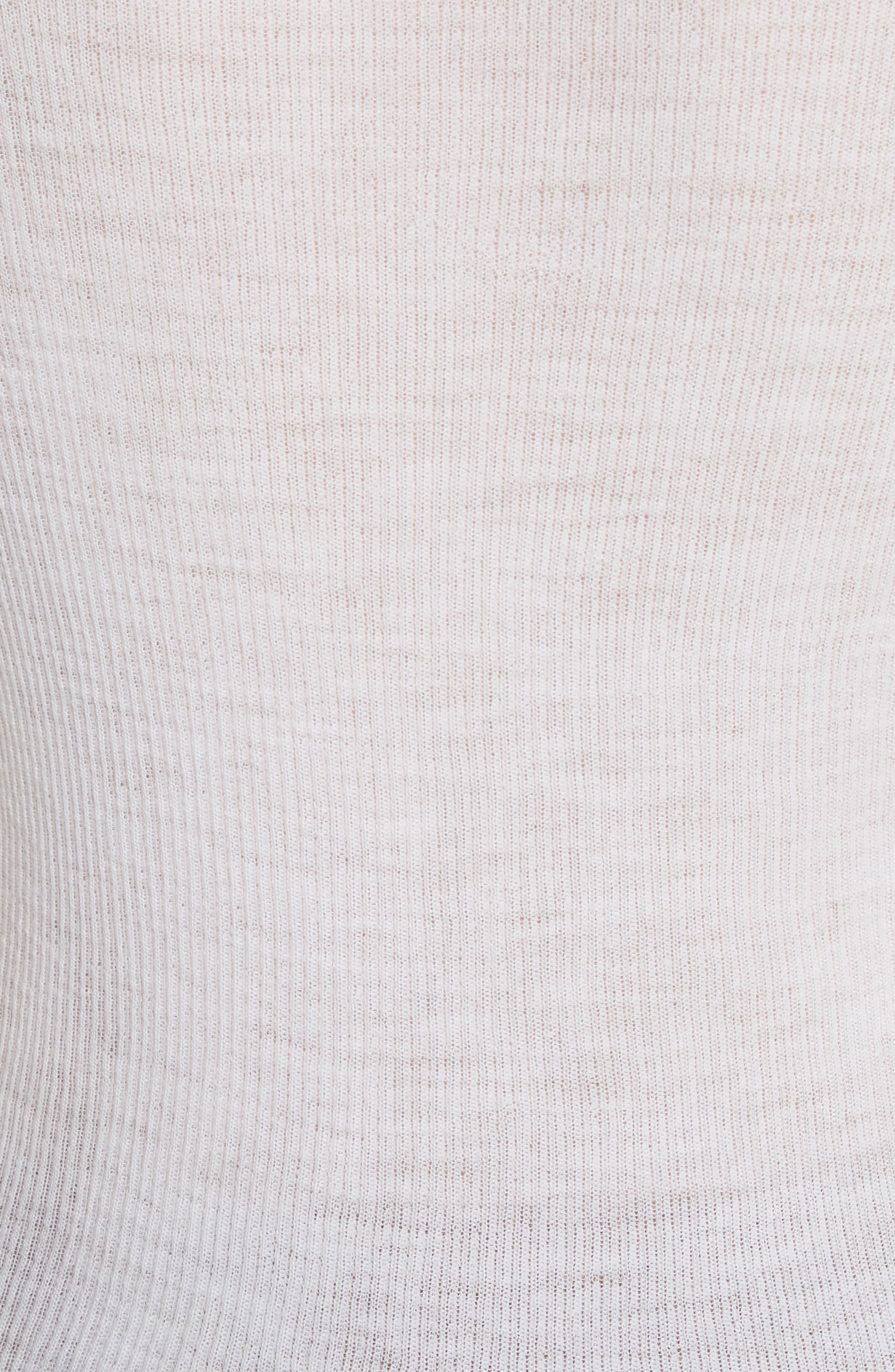 Stripe Cuff Wool Sweater,                             Alternate thumbnail 5, color,                             170