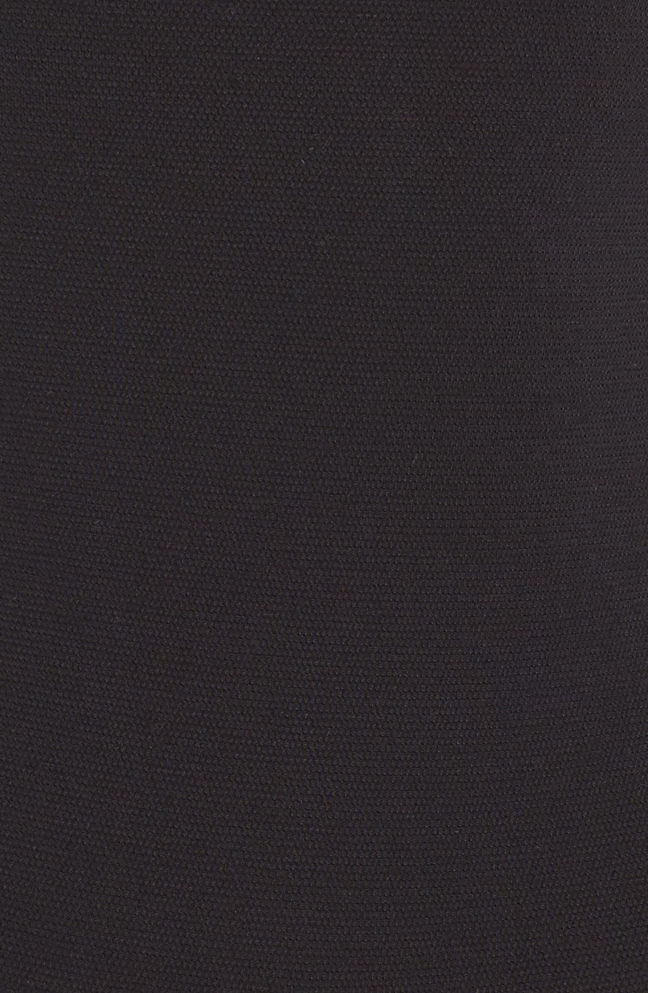 Thong Bodysuit,                             Alternate thumbnail 5, color,                             BLACK