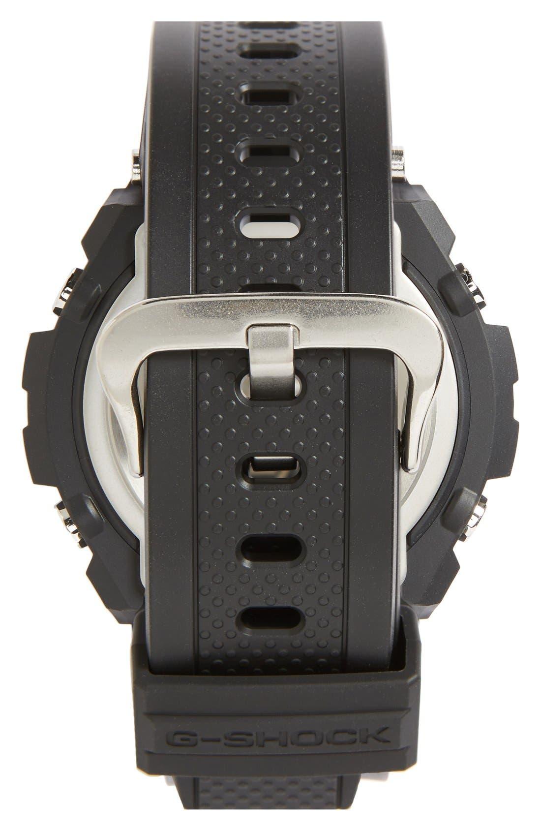 G-Shock Ana-Digi Solar Watch, 46mm,                             Alternate thumbnail 2, color,                             001