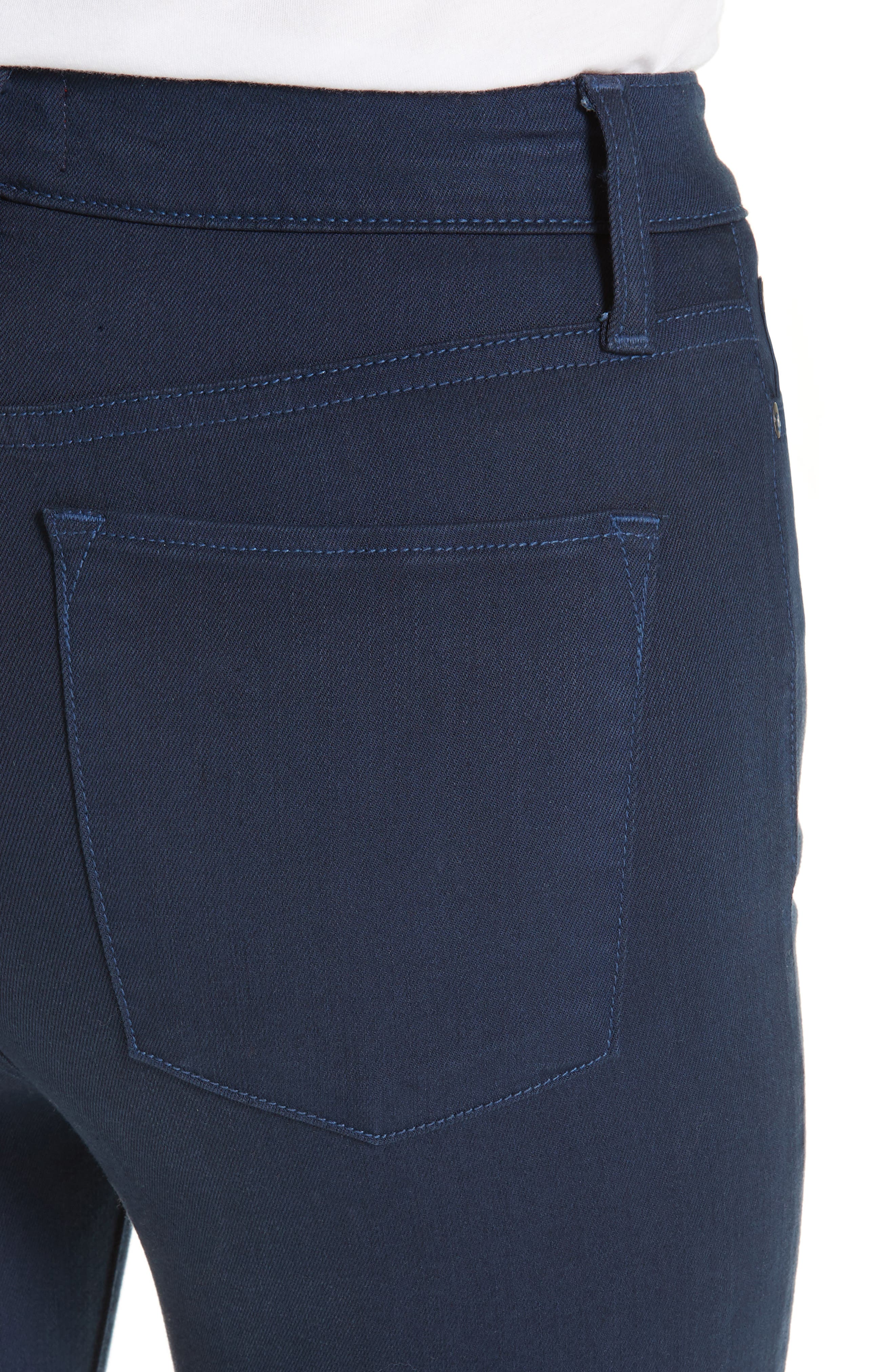 Good High Waist Skinny Jeans,                             Alternate thumbnail 4, color,                             400
