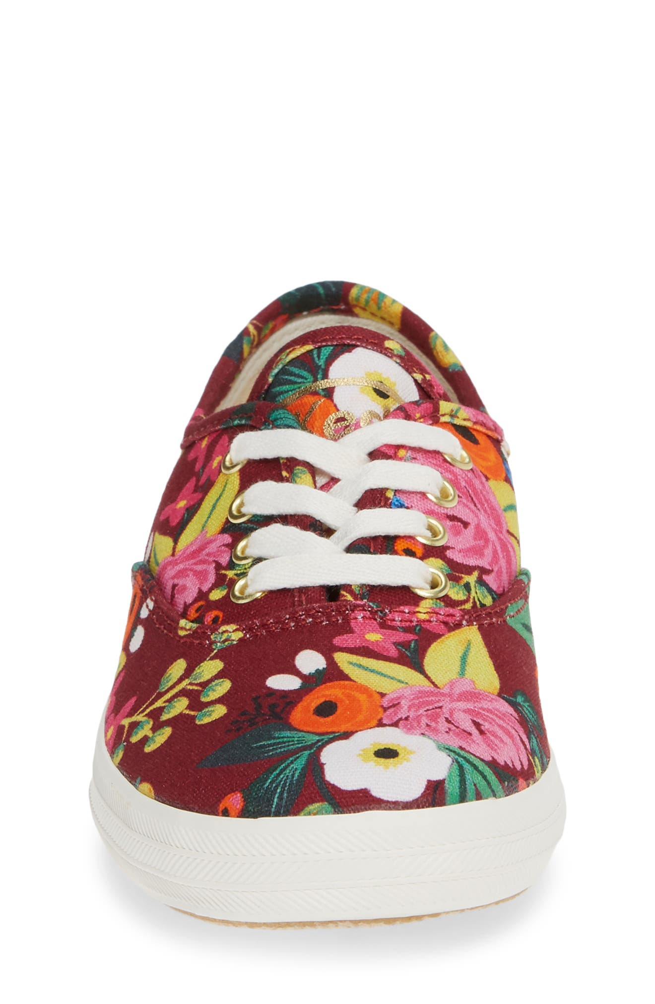 x Rifle Paper Co. Floral Print Champion Sneaker,                             Alternate thumbnail 4, color,                             VINTAGE BLOSSOM