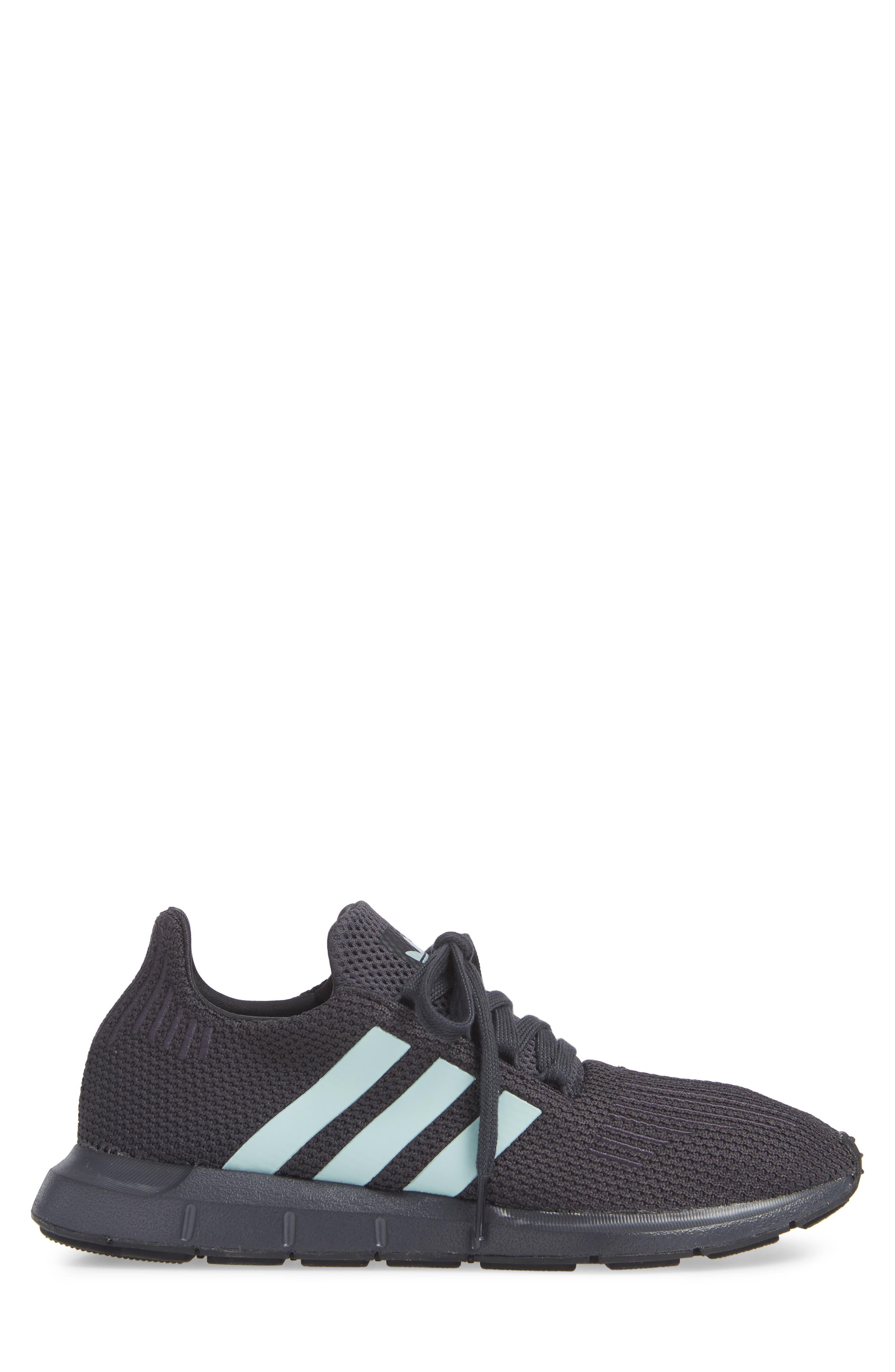Swift Run Running Shoe,                             Alternate thumbnail 3, color,                             GREY/ GREEN/ BLACK