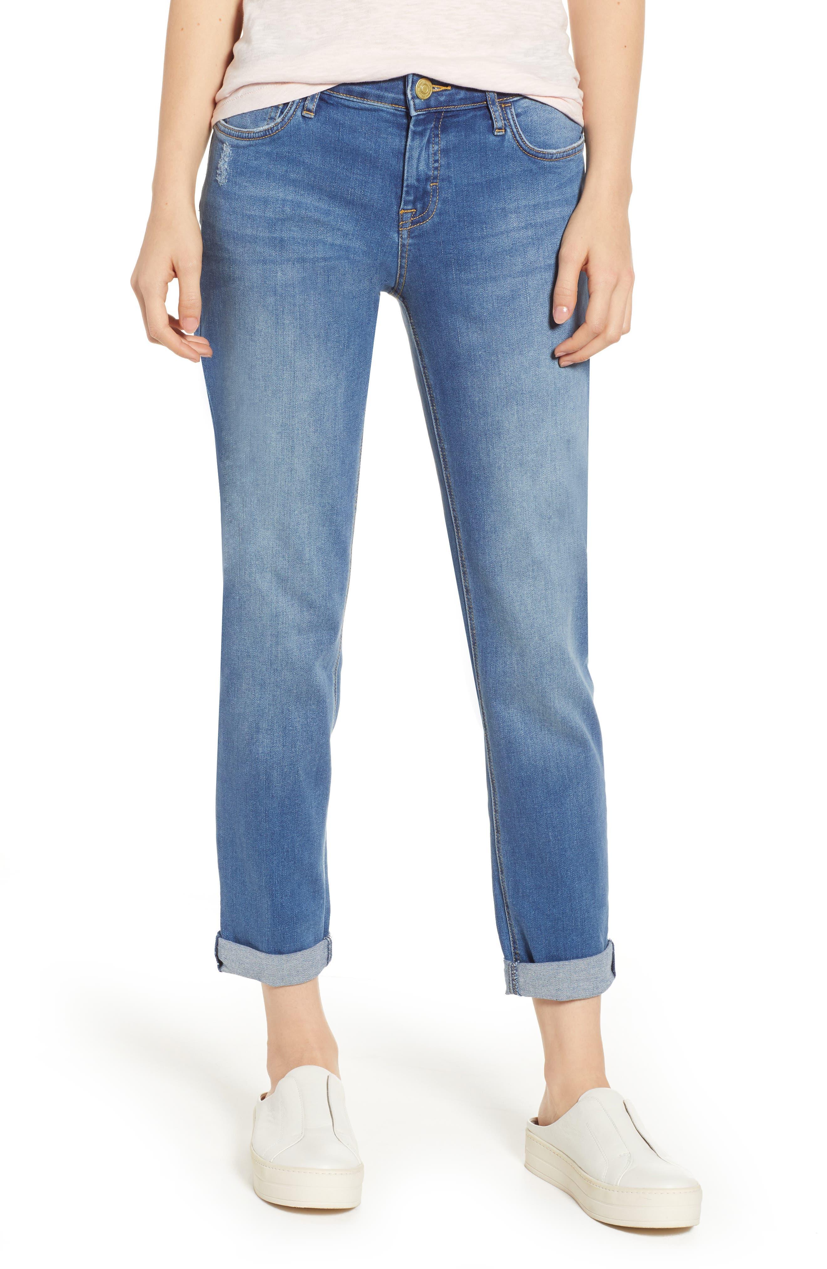 Tema Slim Boyfriend Jeans,                         Main,                         color, 407