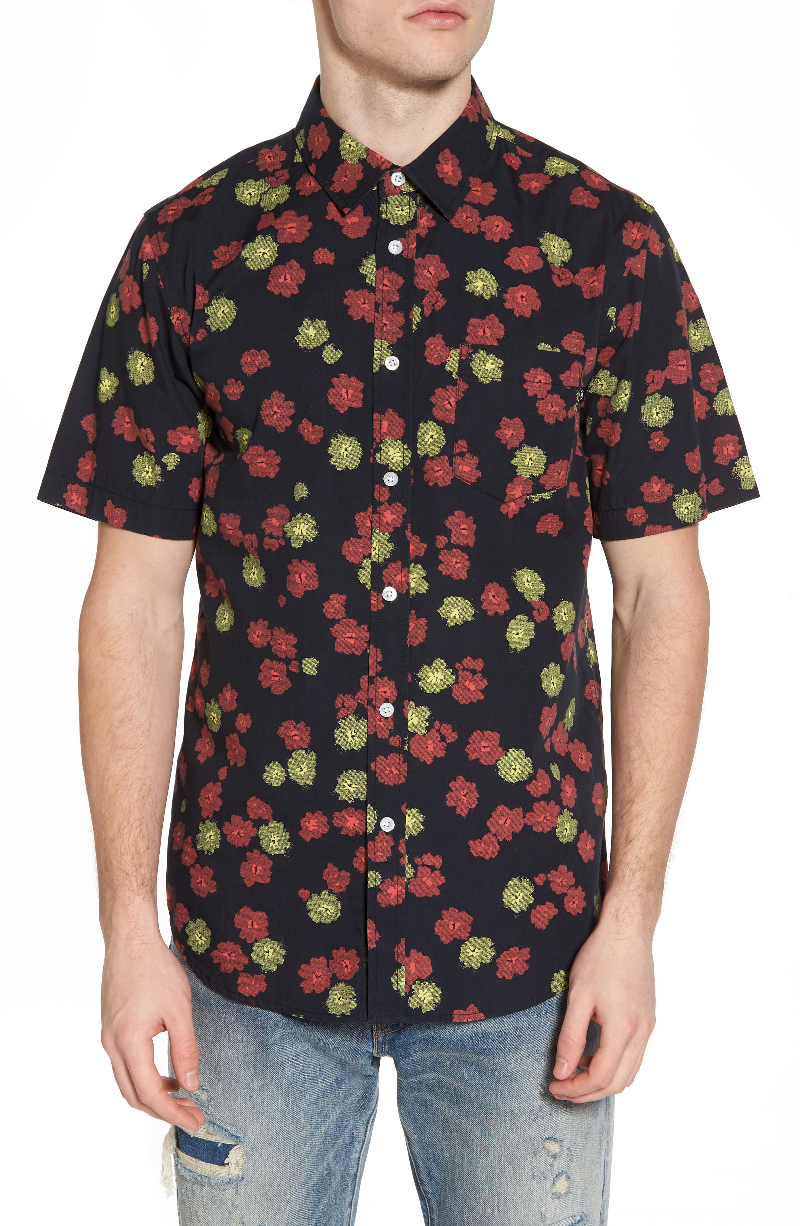 Felix Poplin Shirt,                             Main thumbnail 1, color,                             002