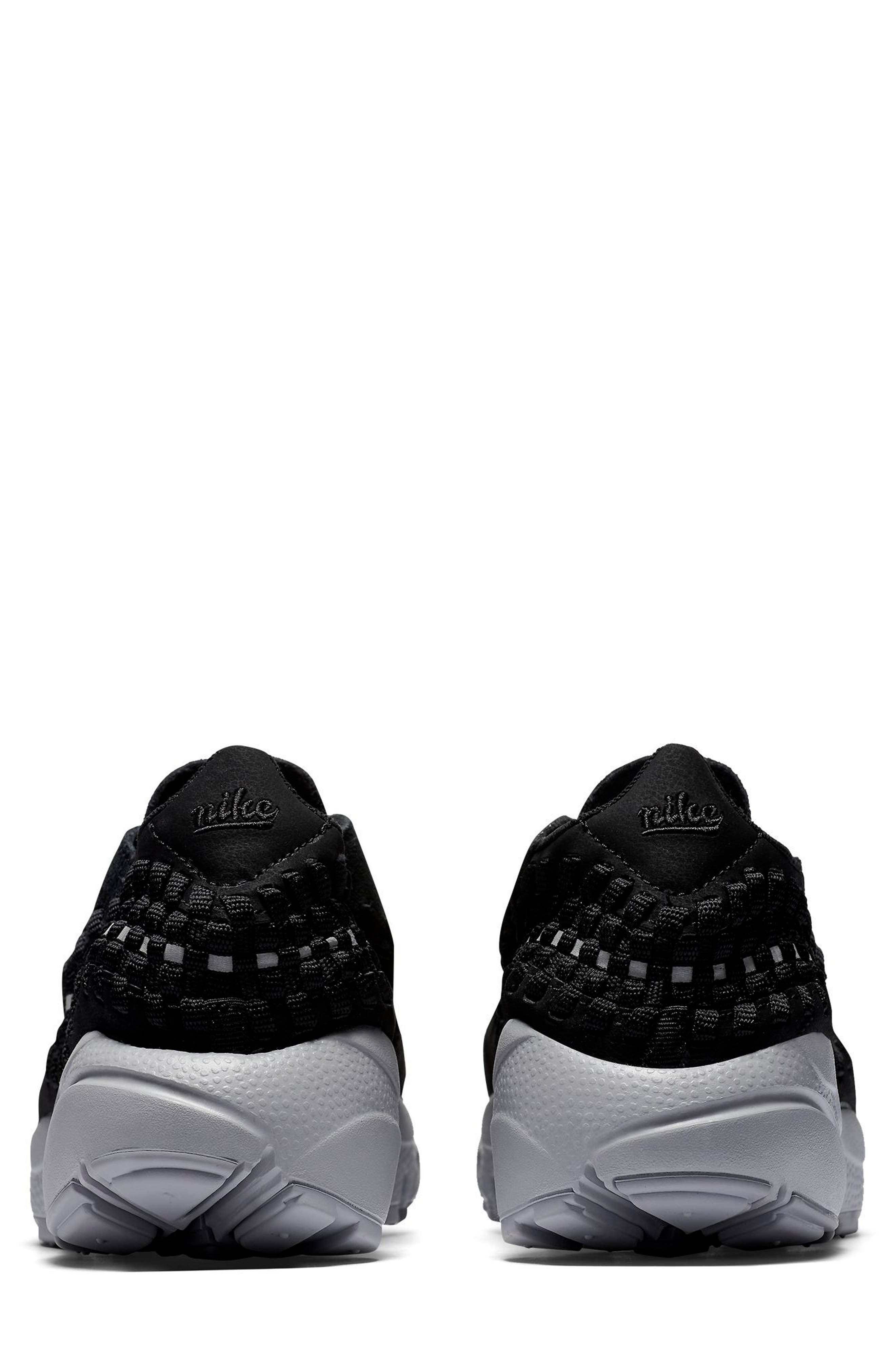 Air Footscape Woven Sneaker,                             Alternate thumbnail 2, color,                             002