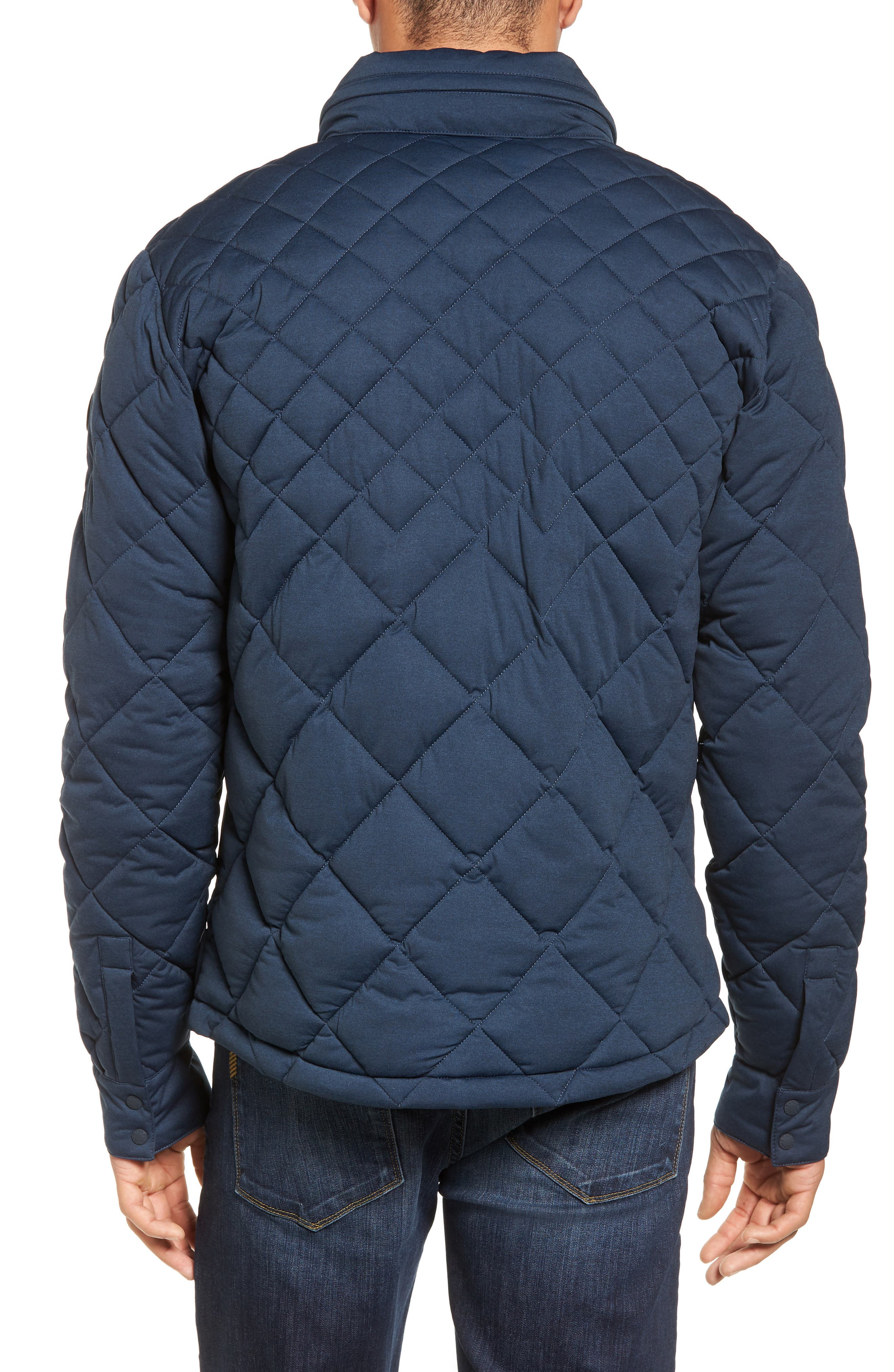 Stretch Quilted Field Jacket,                             Alternate thumbnail 2, color,                             411