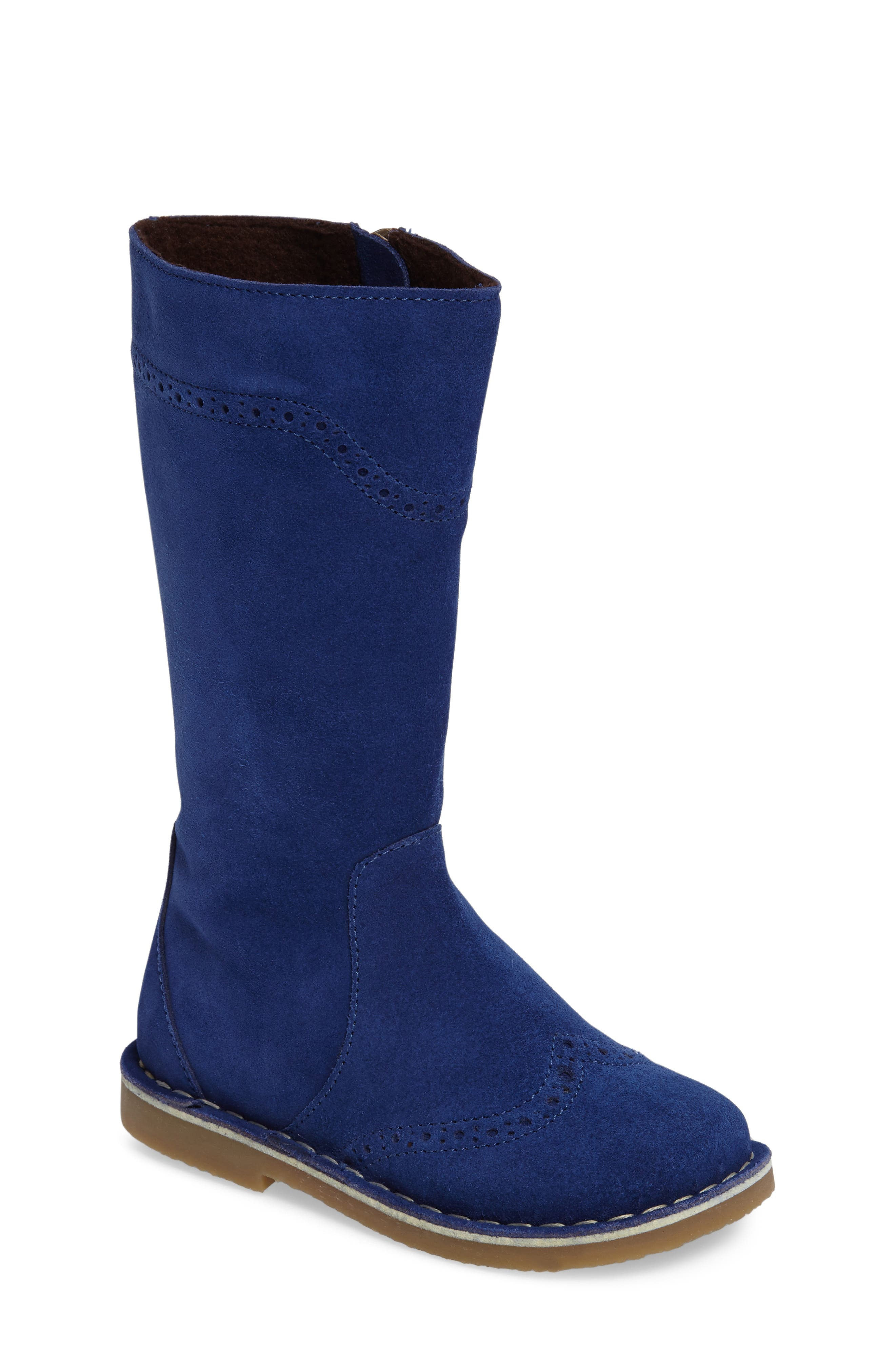 Tall Leather Boot,                             Main thumbnail 5, color,