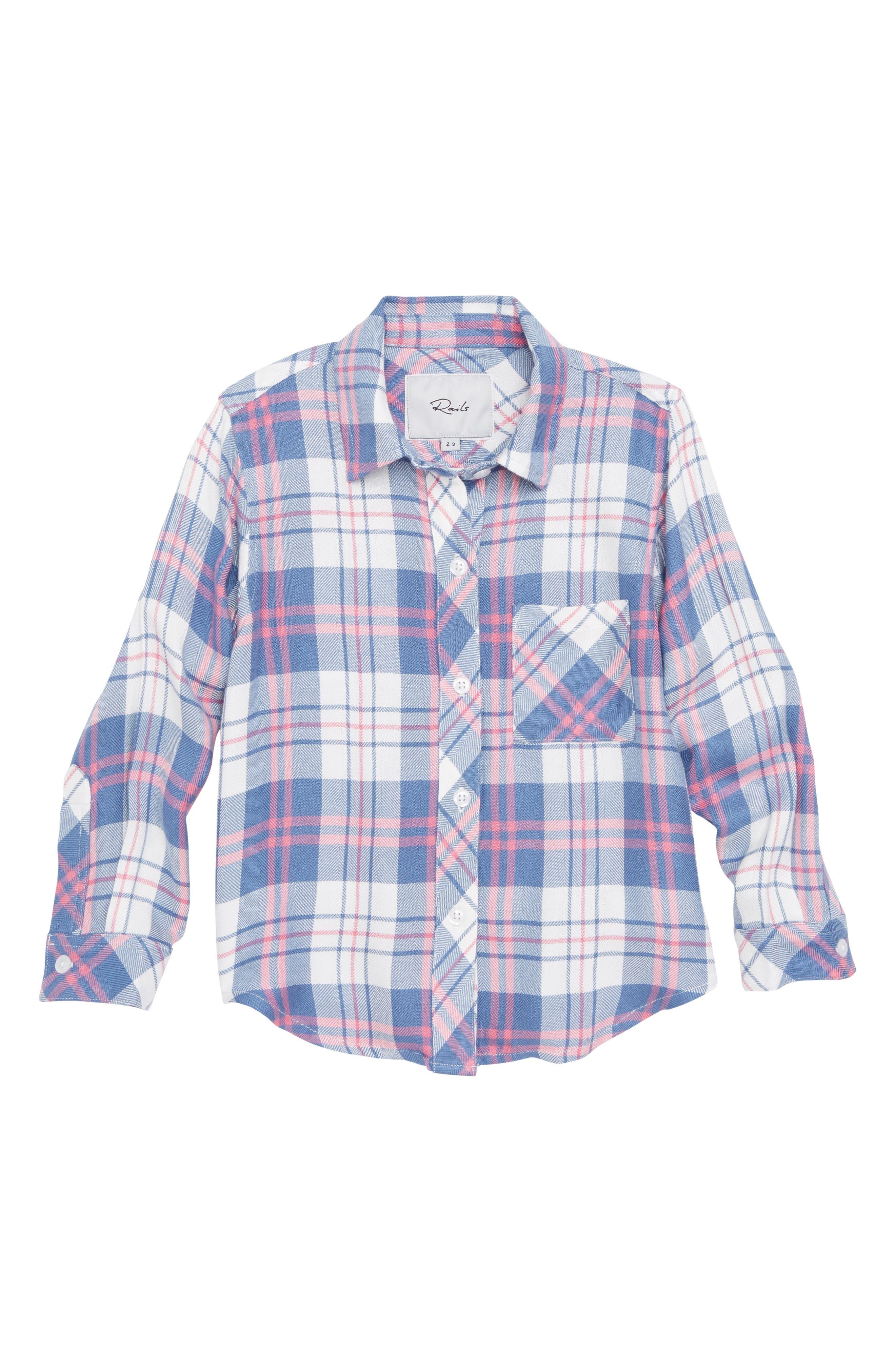 Hudson Plaid Shirt,                         Main,                         color, 109