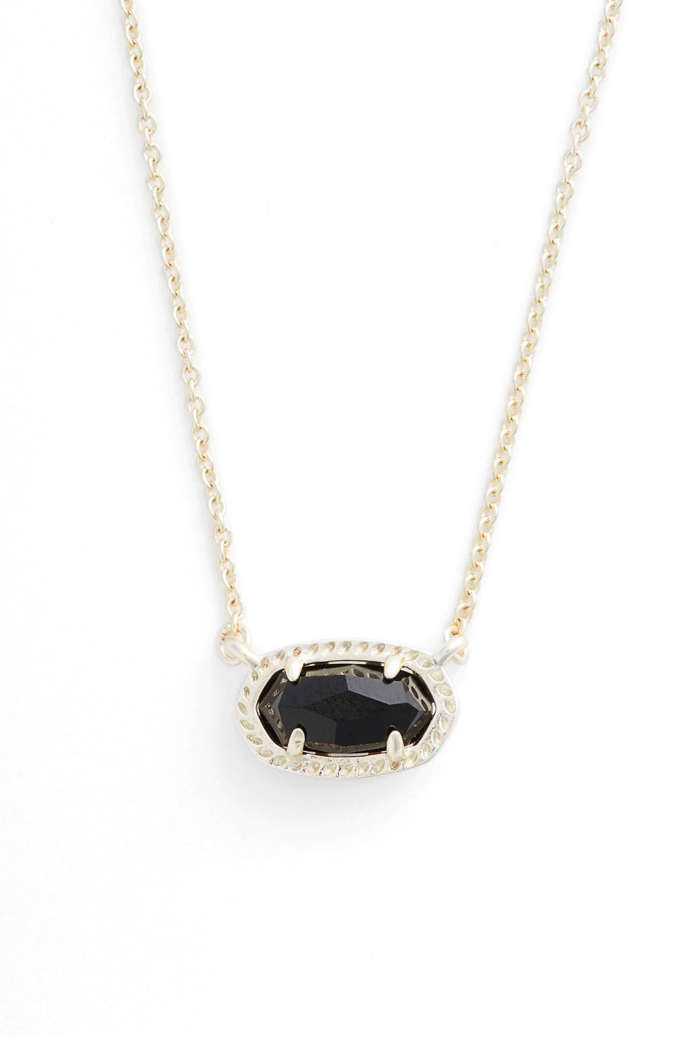 Ember Pendant Necklace,                             Main thumbnail 1, color,                             BLACK/ GOLD