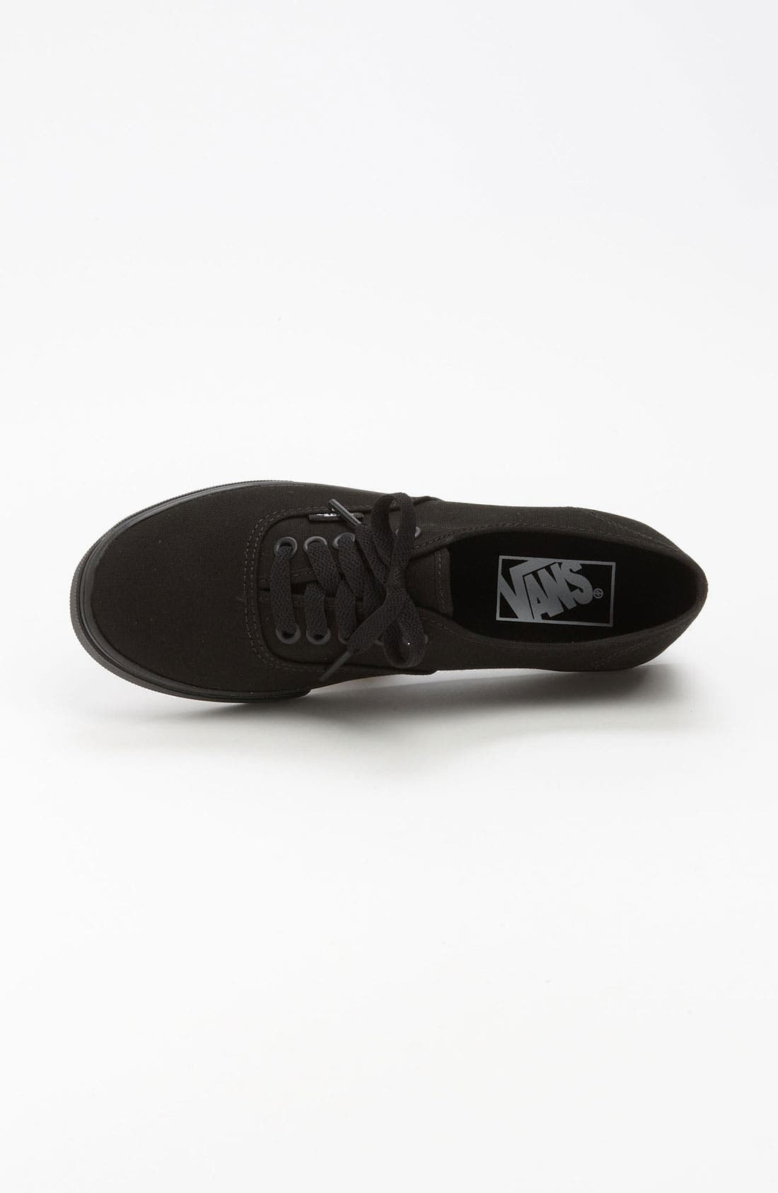 'Authentic - Lo Pro' Sneaker,                             Alternate thumbnail 2, color,                             BLACK