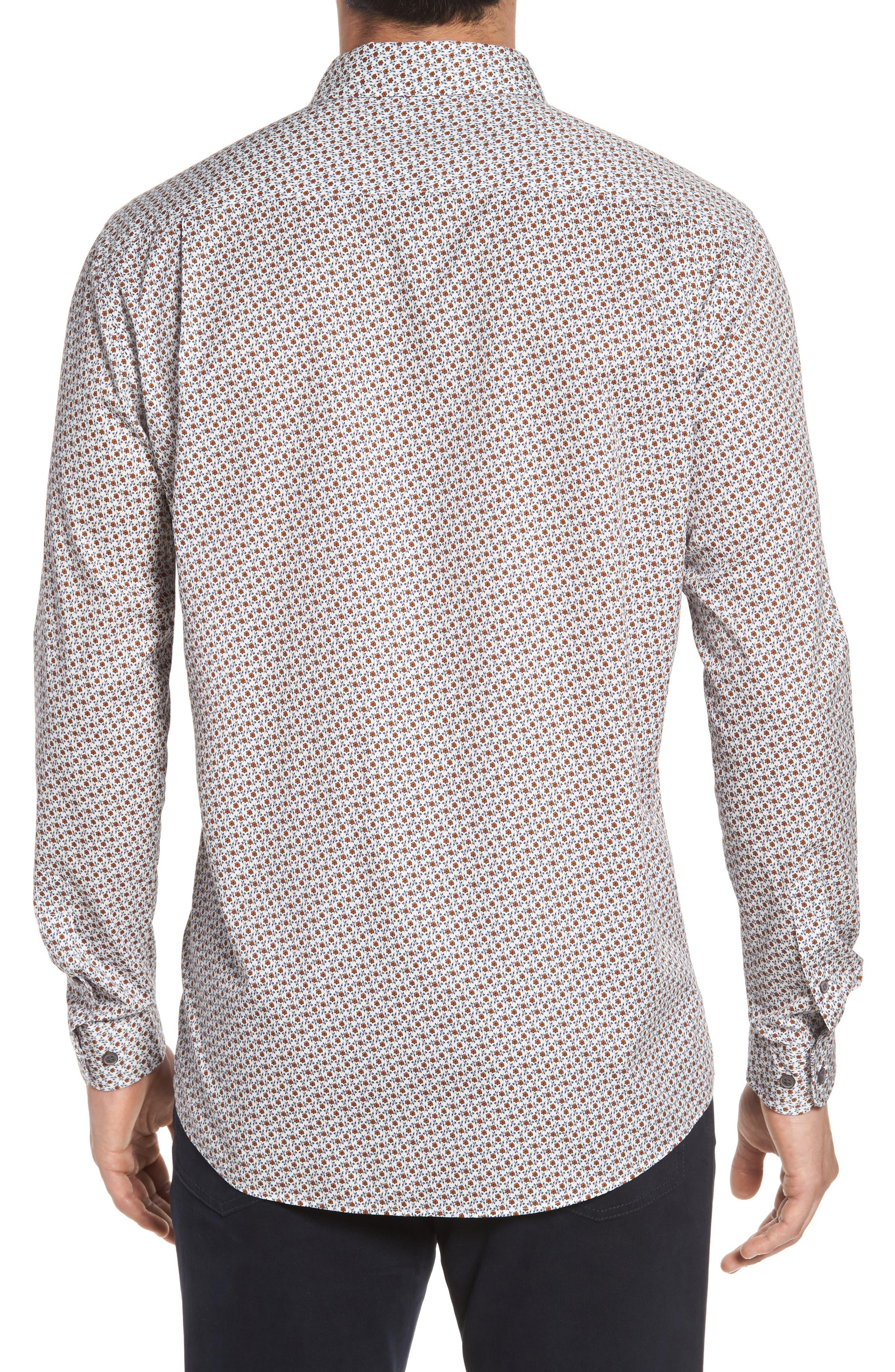 Regular Fit Cascade Sport Shirt,                             Alternate thumbnail 2, color,                             815