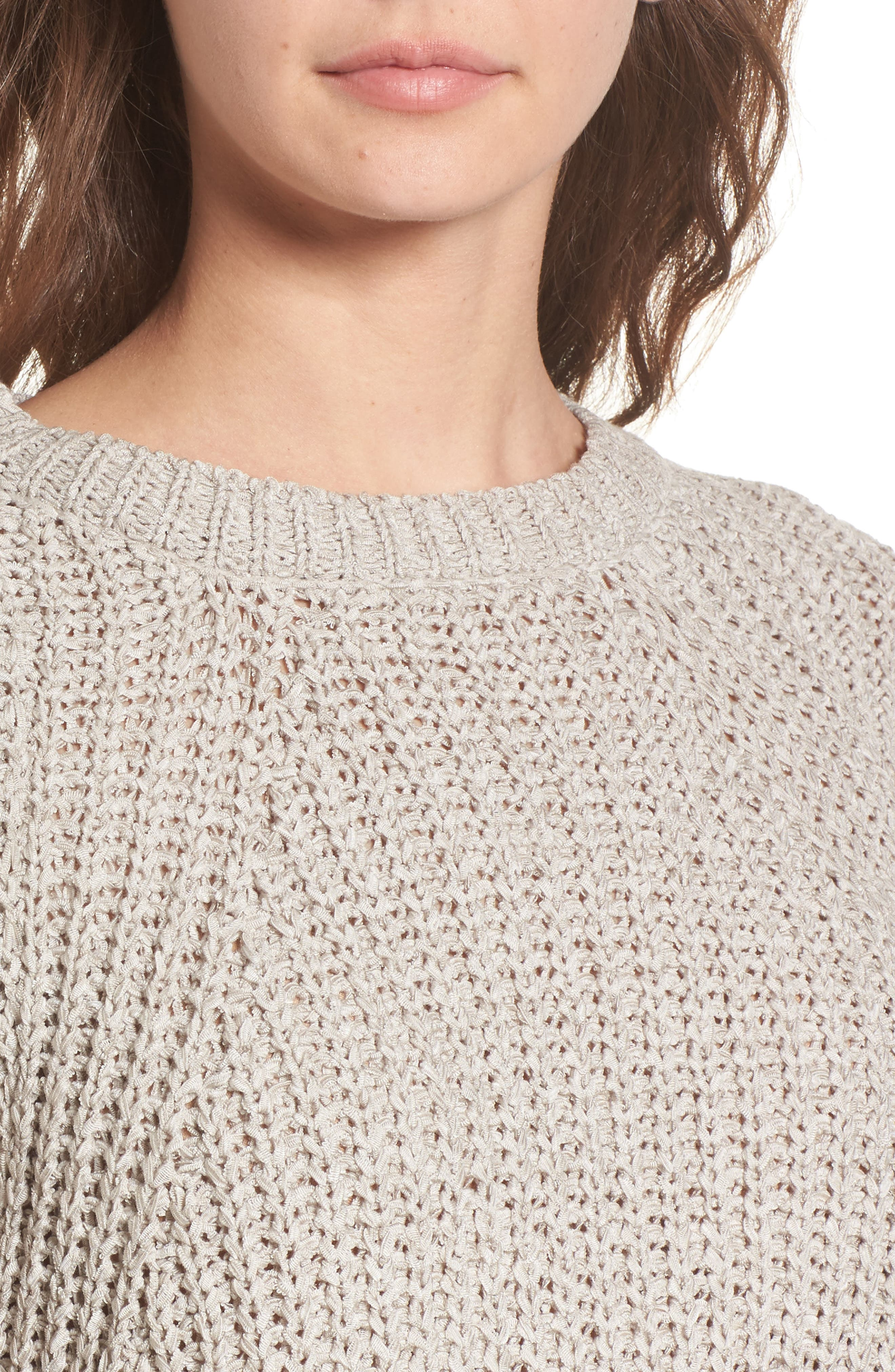 Bell Sleeve Sweater,                             Alternate thumbnail 4, color,                             280