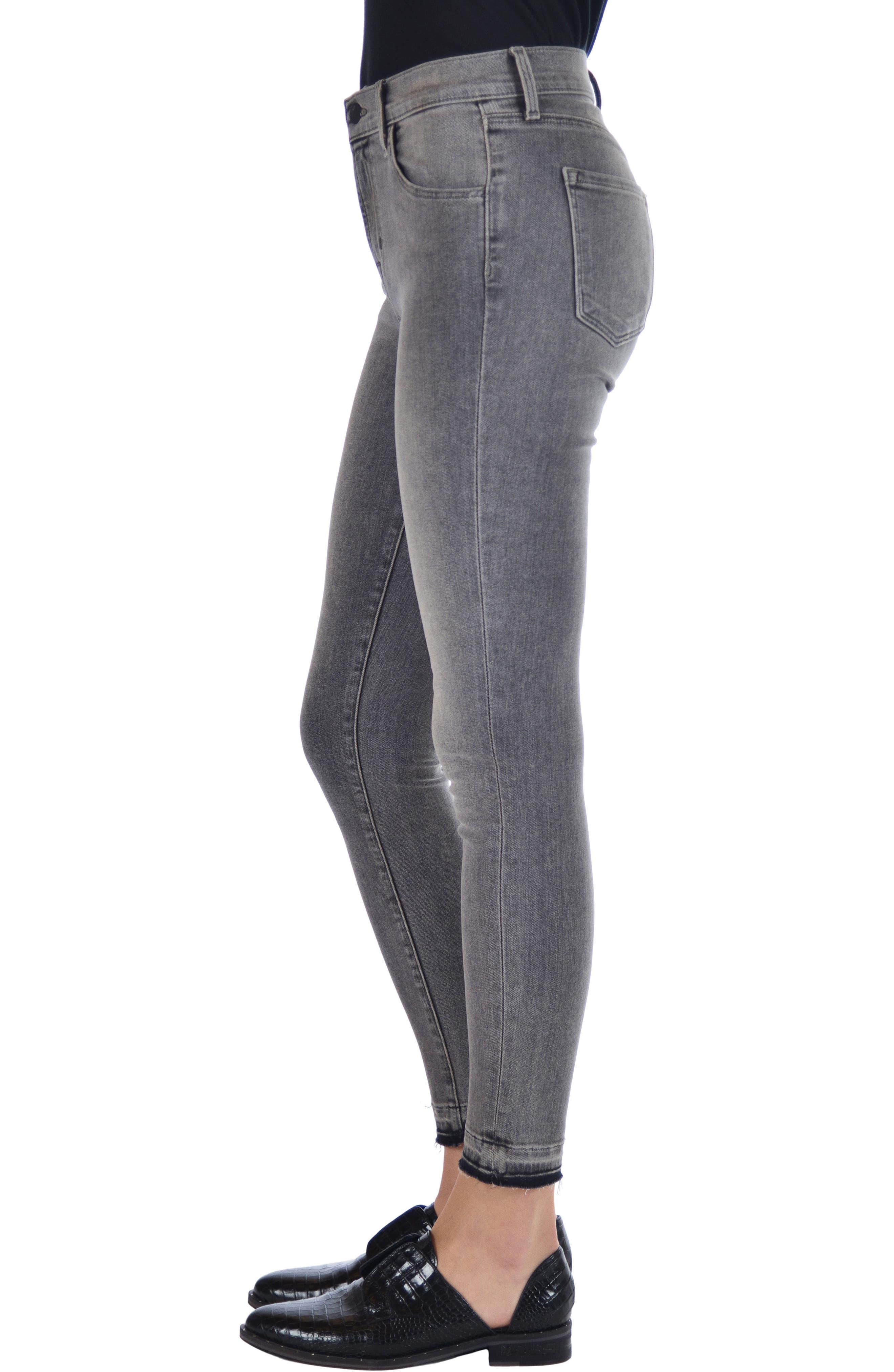 Alana High Waist Ankle Skinny Jeans,                             Alternate thumbnail 3, color,                             030
